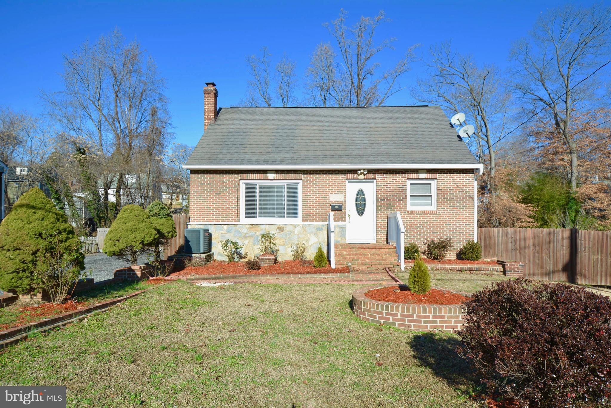 Beautiful 3 Level/ Four Bedroom Cape Cod Home! NO HOA FEES. Extra Large Fenced in Backyard. Fully Fi