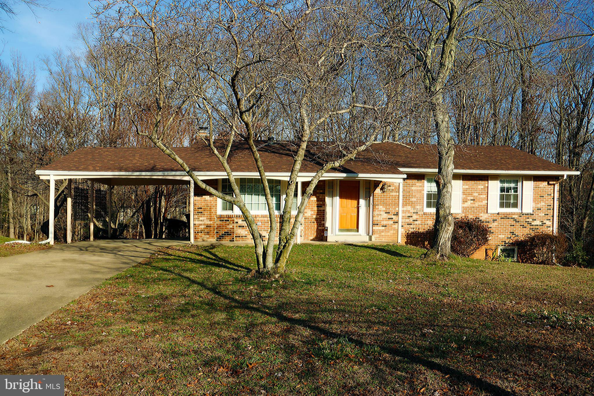 Awesome Rambler in cul-de-sac on almost a true 1/2 acre. Featuring 4 bedrooms, 3 full baths.  Walk i