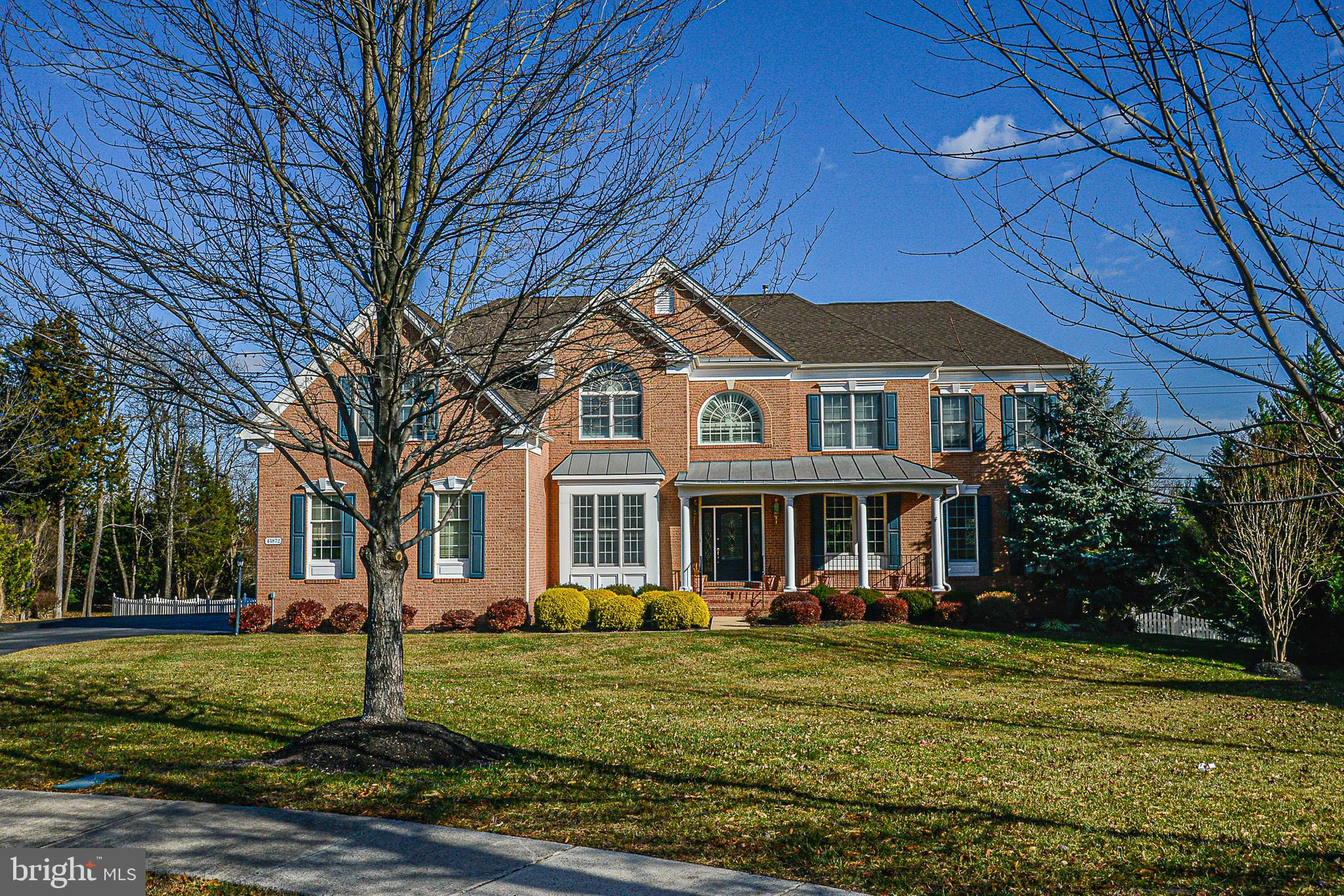 Stunning Toll Bro's Elkton Model, over 7000 finished sq ft on three levels, nestled on a quiet cul-d