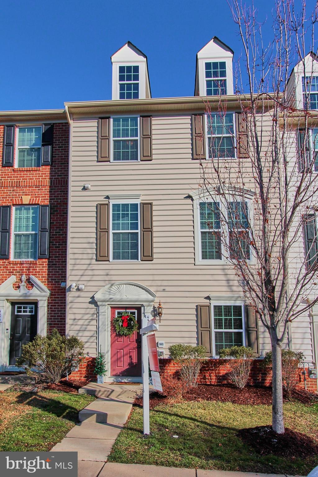 Open House Saturday 12/14 from 2-4. Absolutely Immaculate three level town home in the describable c
