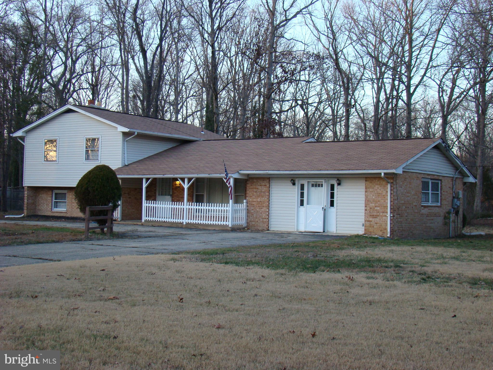 Nice 4BR 2B home on 1 acre n county setting. Main level BIG BRm POSSIBLE In-law suite w additional 5