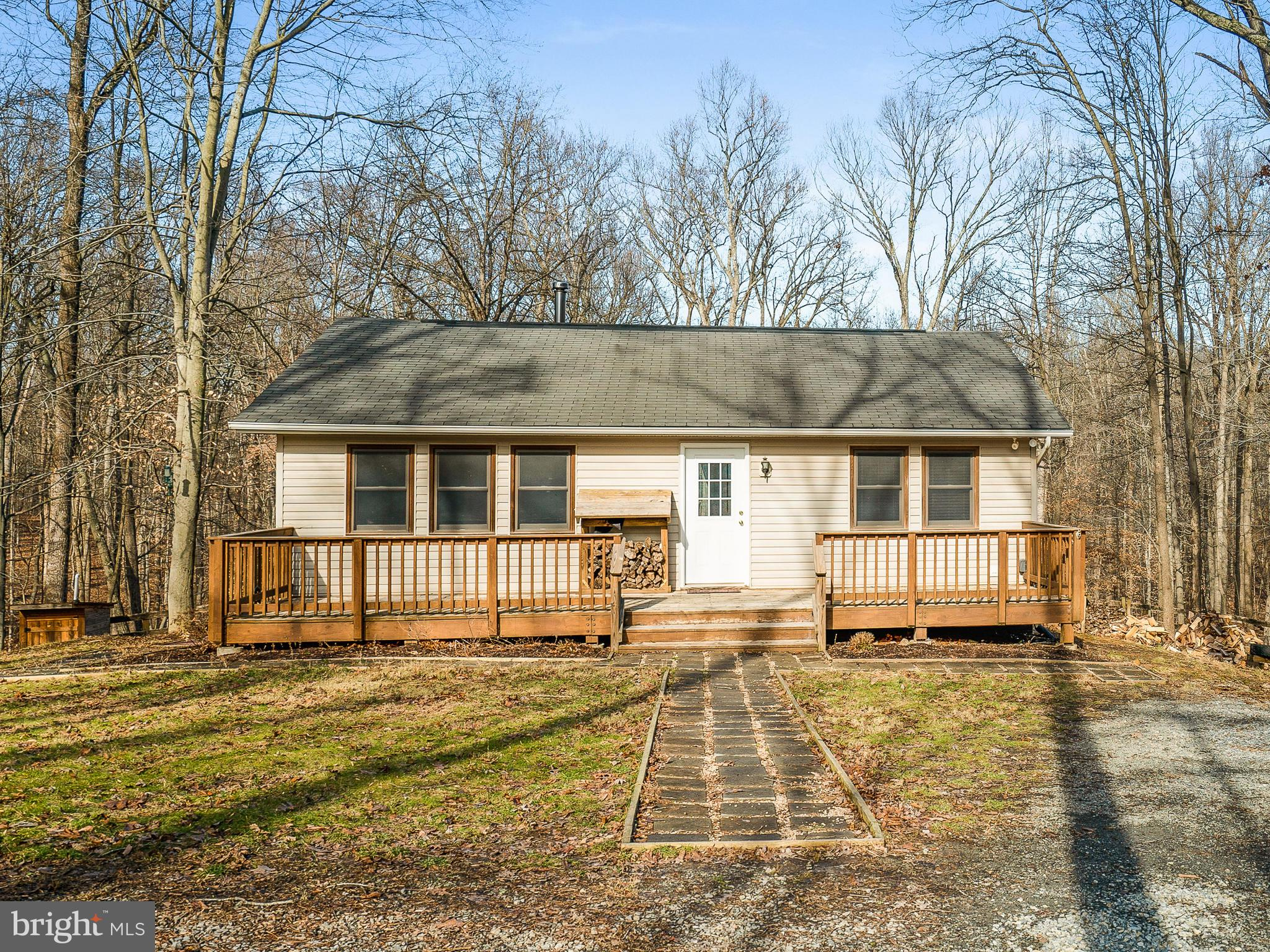 Nicely updated 1 bedroom 1 bath home.  Many upgrades and over 8 acres of usable property.  Comes wit