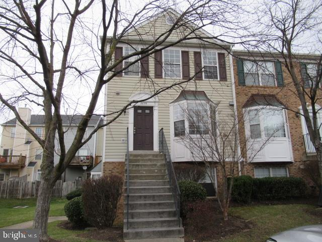 Fantastic opportunity to own this town home in a sought after Crofton  neighborhood. Spacious living room with a fireplace and deck for entertaining. Half bath on the main and 2 full upstairs along with 3 bedrooms. Open kitchen with front bay windows and plenty of cabinet space. Some work is required but the property is worth the time and effort. Basement stairs lead you to the laundry area and a fenced back yard for privacy. Lots of natural lighting inside this end unit with windows in practically every room. This is definitely one to see.