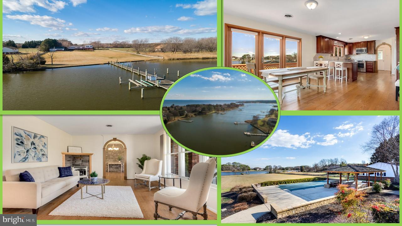SERIOUSLY, this property offers something for everyone! Deep protected water, private pier, 3525+sq/