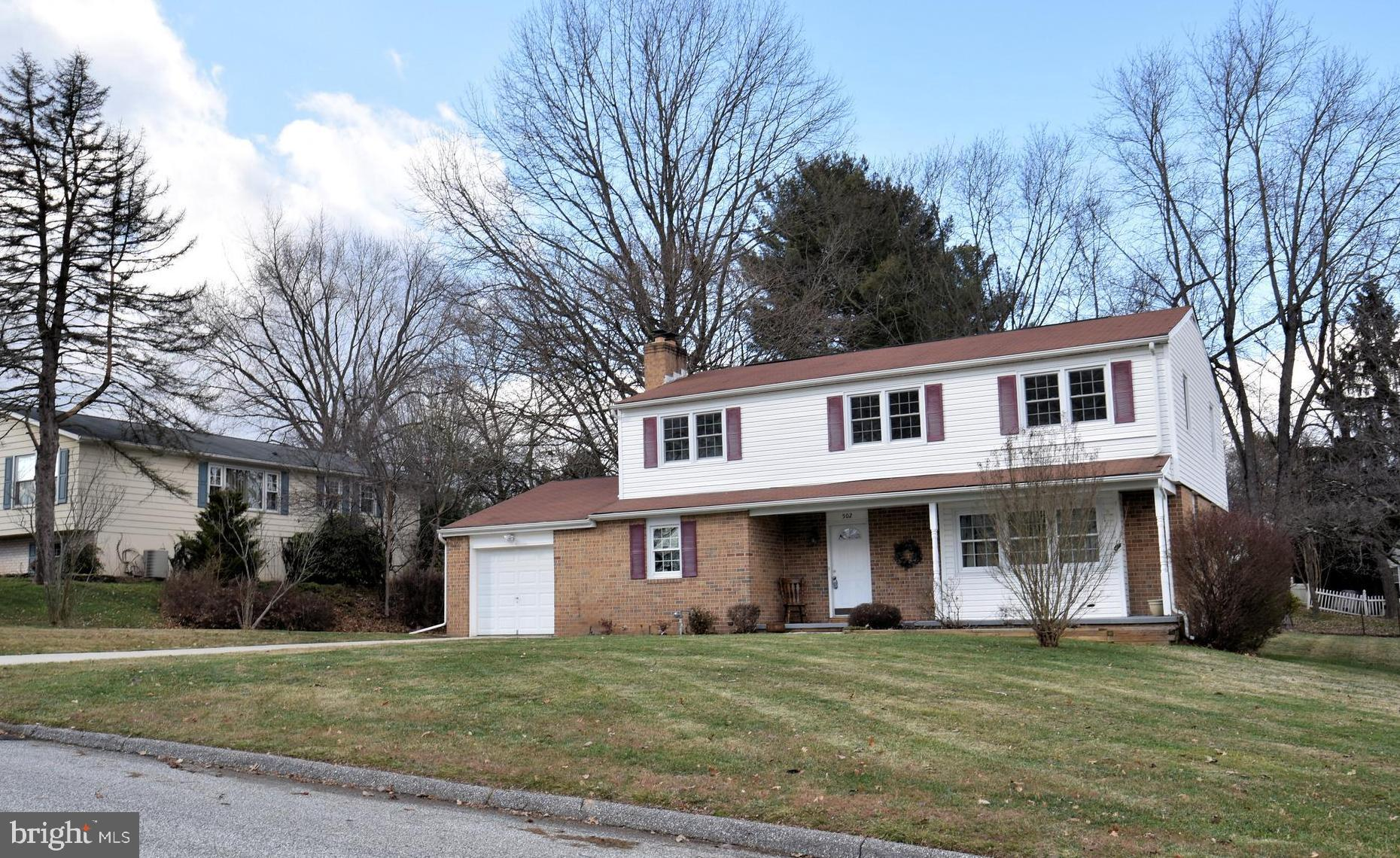 Talk about Curb Appeal and Location! Right in Bel Air just Minutes to Main Street, Ma and Pa Trail,