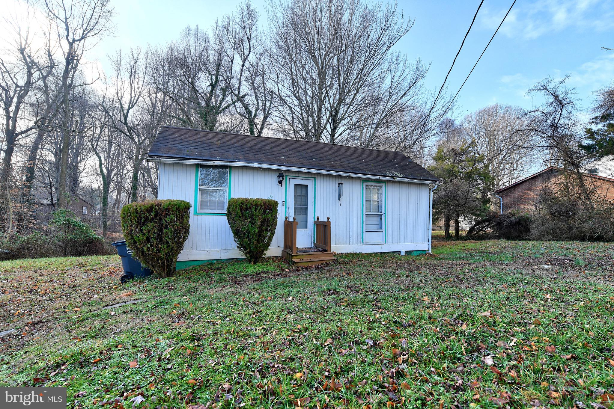 Attn Investors!  Don't miss this great opportunity in Chesapeake Beach!  Restore this home or rebuil