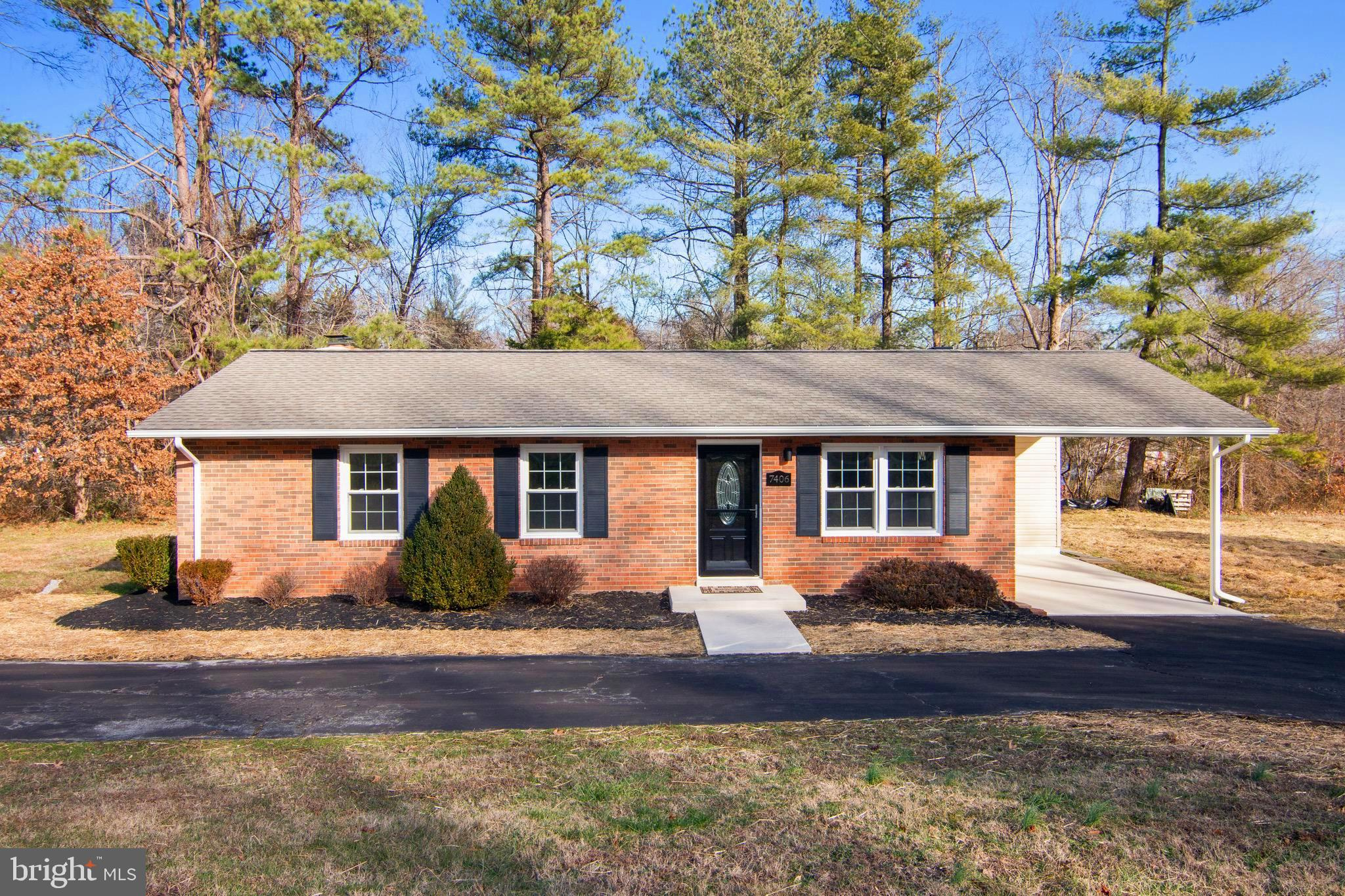 Sellers did a fantastic job of totally renovating this lovely ranch home .Within walking distance to