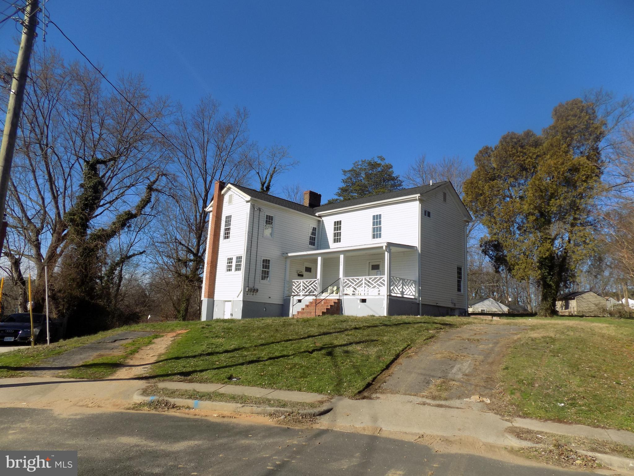 Bring your flashlight and creativity to complete this spacious home.  About 70% complete, renovated