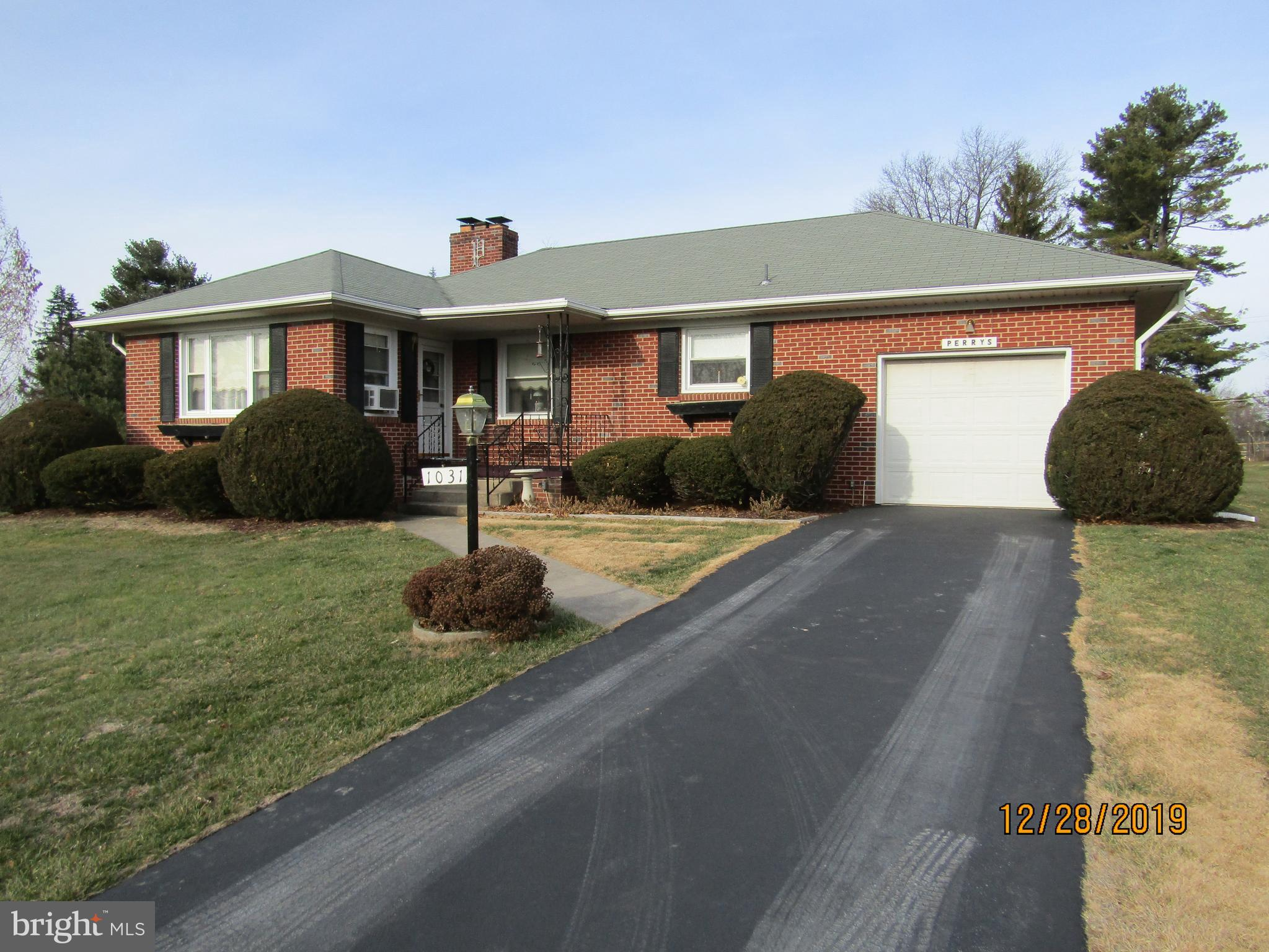 Selling for the estate of Mr. Lawrence  Perry, this All Brick  Home shows pride of ownership, with l