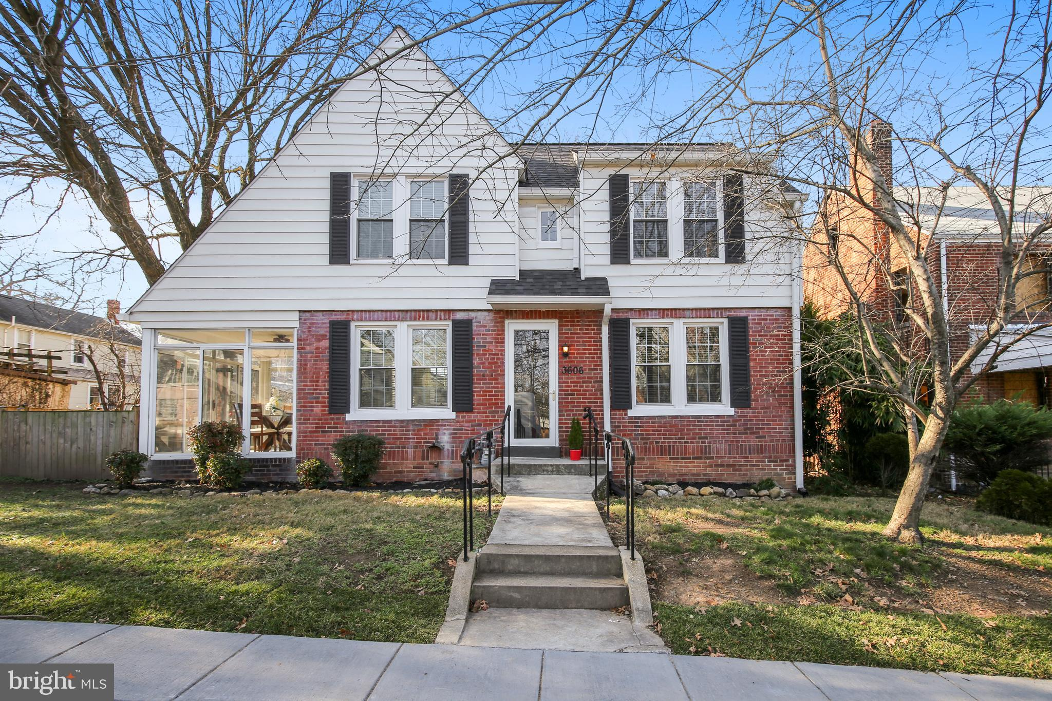 Now's your chance to discover this charming 4-bedroom/2-bathroom home in northeast DC's coveted Brookland neighborhood. Features include renovated kitchen and bathrooms, screened-in side porch for entertaining and lounging, finished basement with private entrance, hardwood floors, and working fireplace.  Live within blocks of a Red Line Metro station, restaurants, bars, rec centers, and green spaces. Off-Street Parking included. Come see for yourself! <b>OPEN HOUSE SUN 1-4</b>