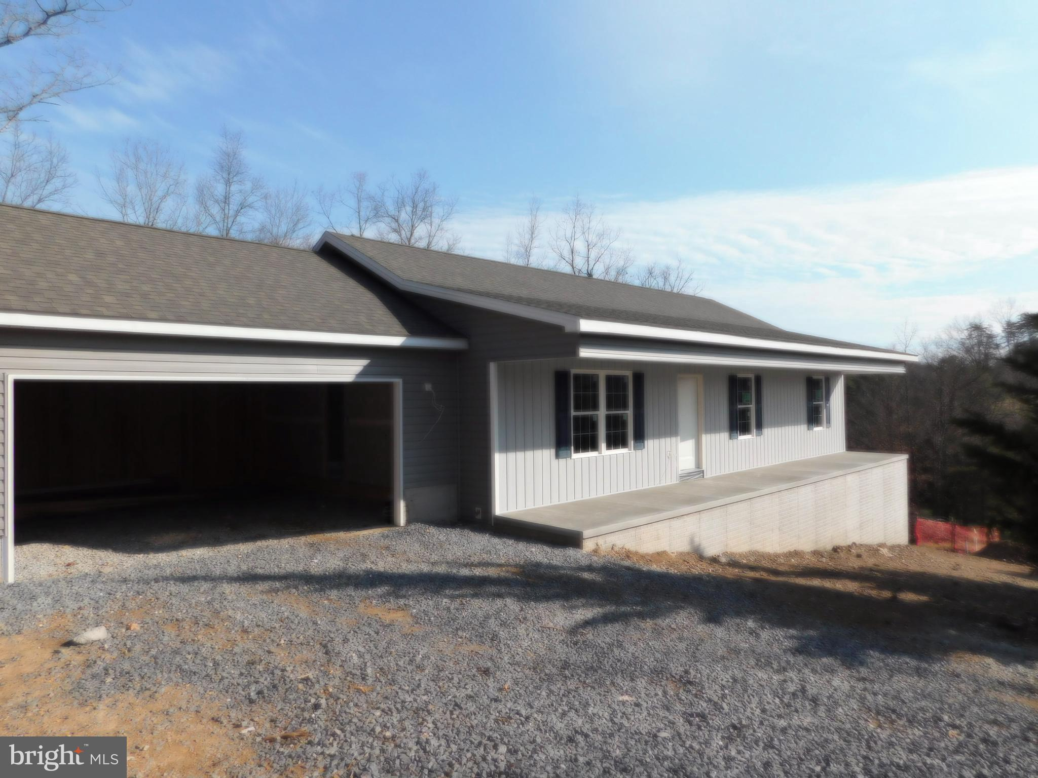 Construction has begun - BRAND NEW RANCHER HOME,  offering open floor plan with cathedral ceilings,