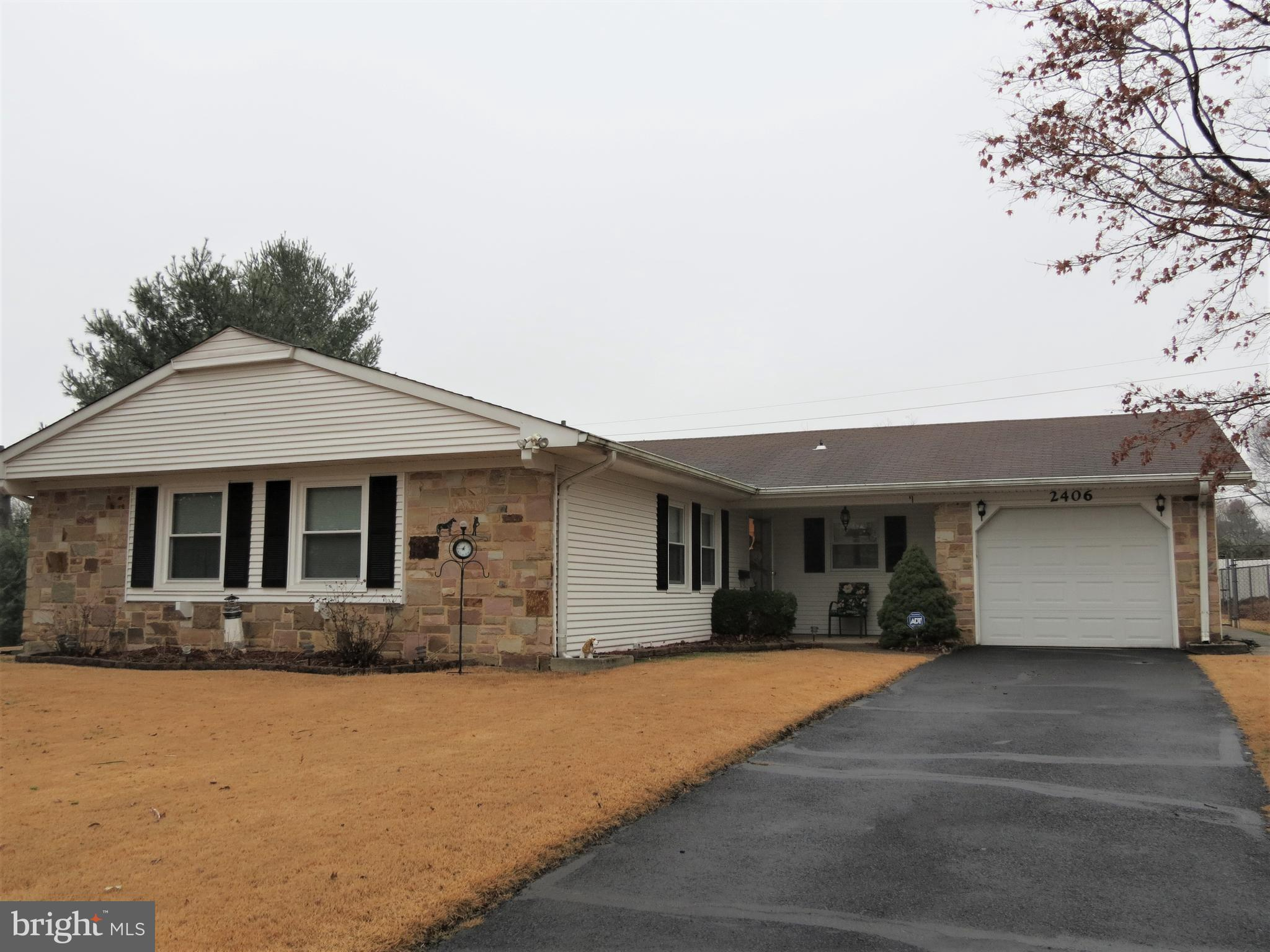Enjoy one level living in this well maintained rancher!  Beautiful kitchen with upgraded appliances,