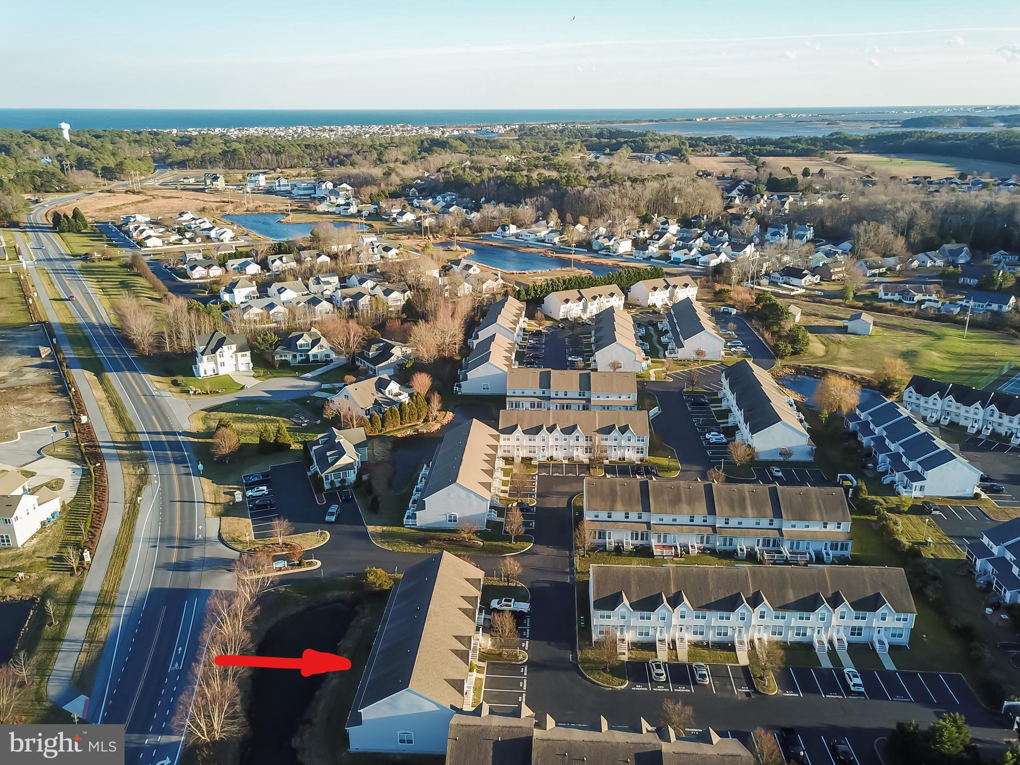 Sun filled beautifully renovated 3 bedroom, 2.5 bath pond view townhouse - just a short distance to