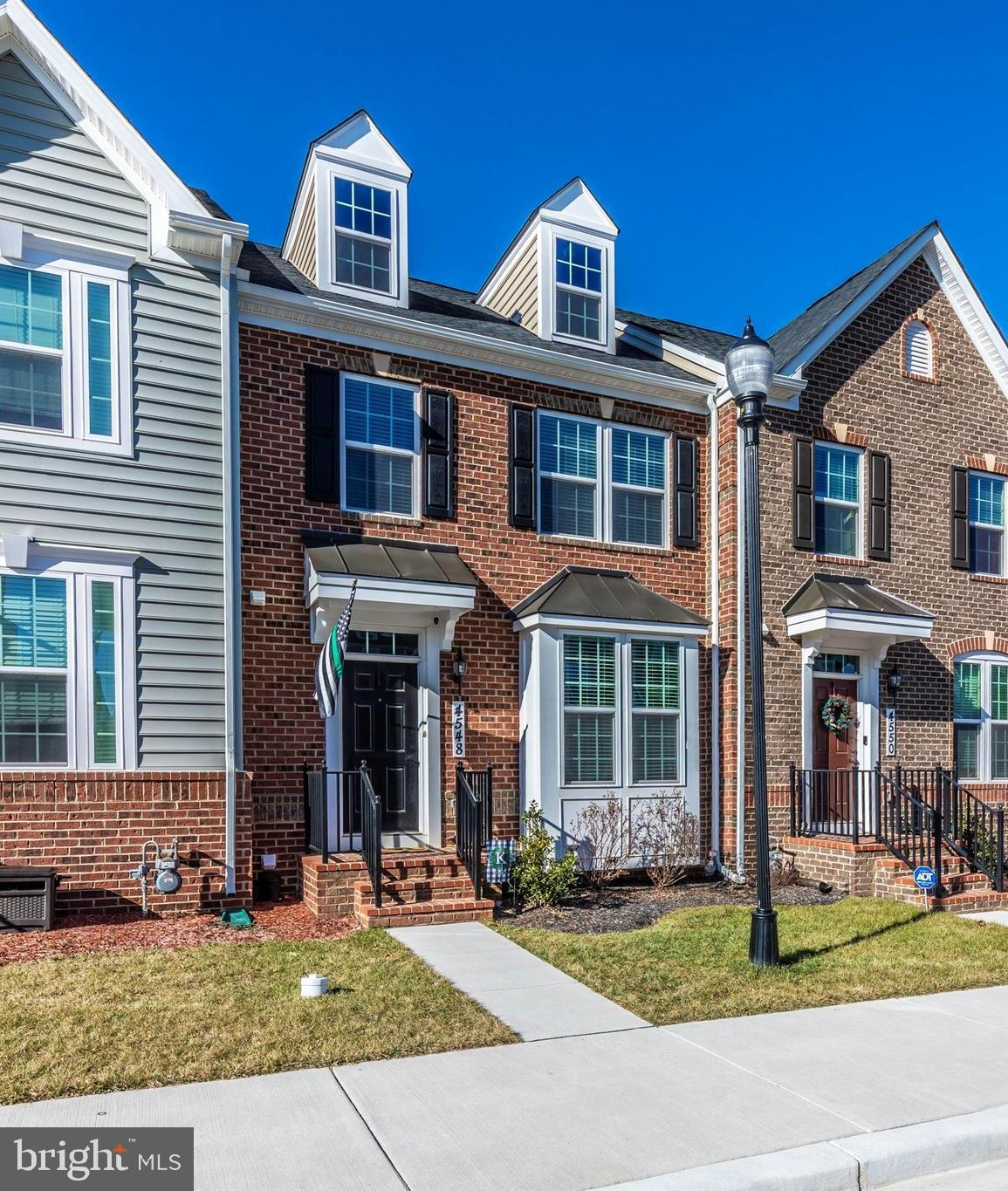 Beautiful brick front townhome in sough after Landsdale.  3 years young!  Builder warranty conveys.