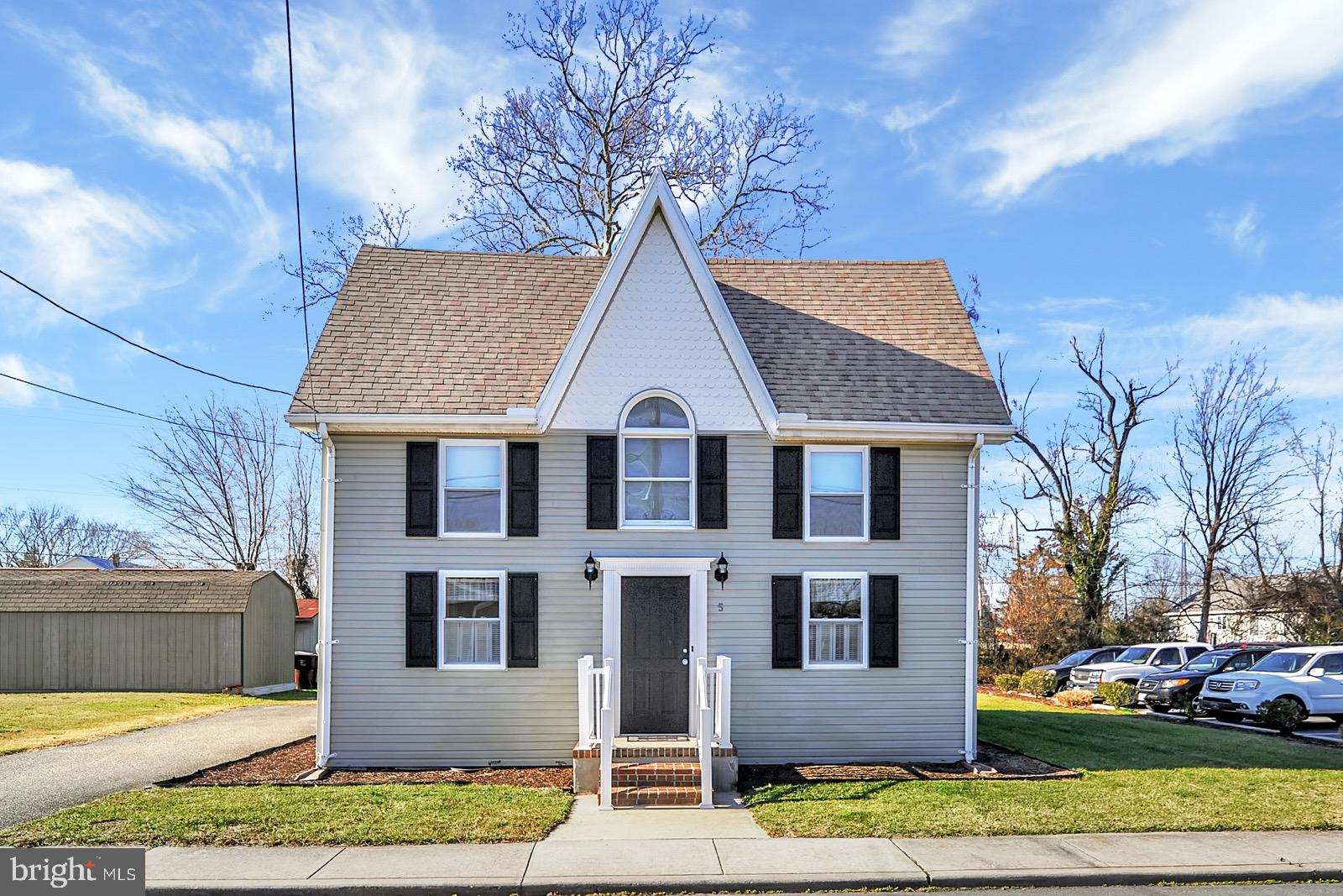 This freshly updated home is the definition of charming! Found in the adorable town of Frankford, th
