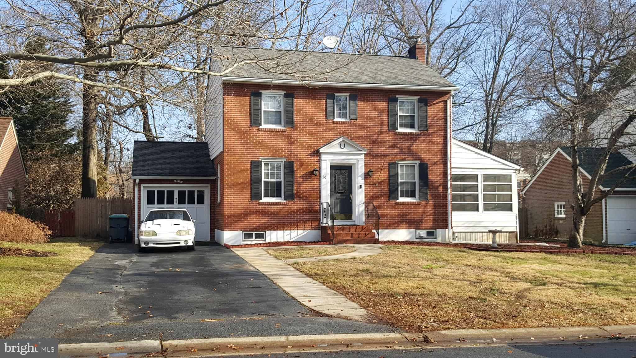 This 2 story brick, 4 bedroom, 2 full bath home located in Brandywine Hundred has a lot to offer for