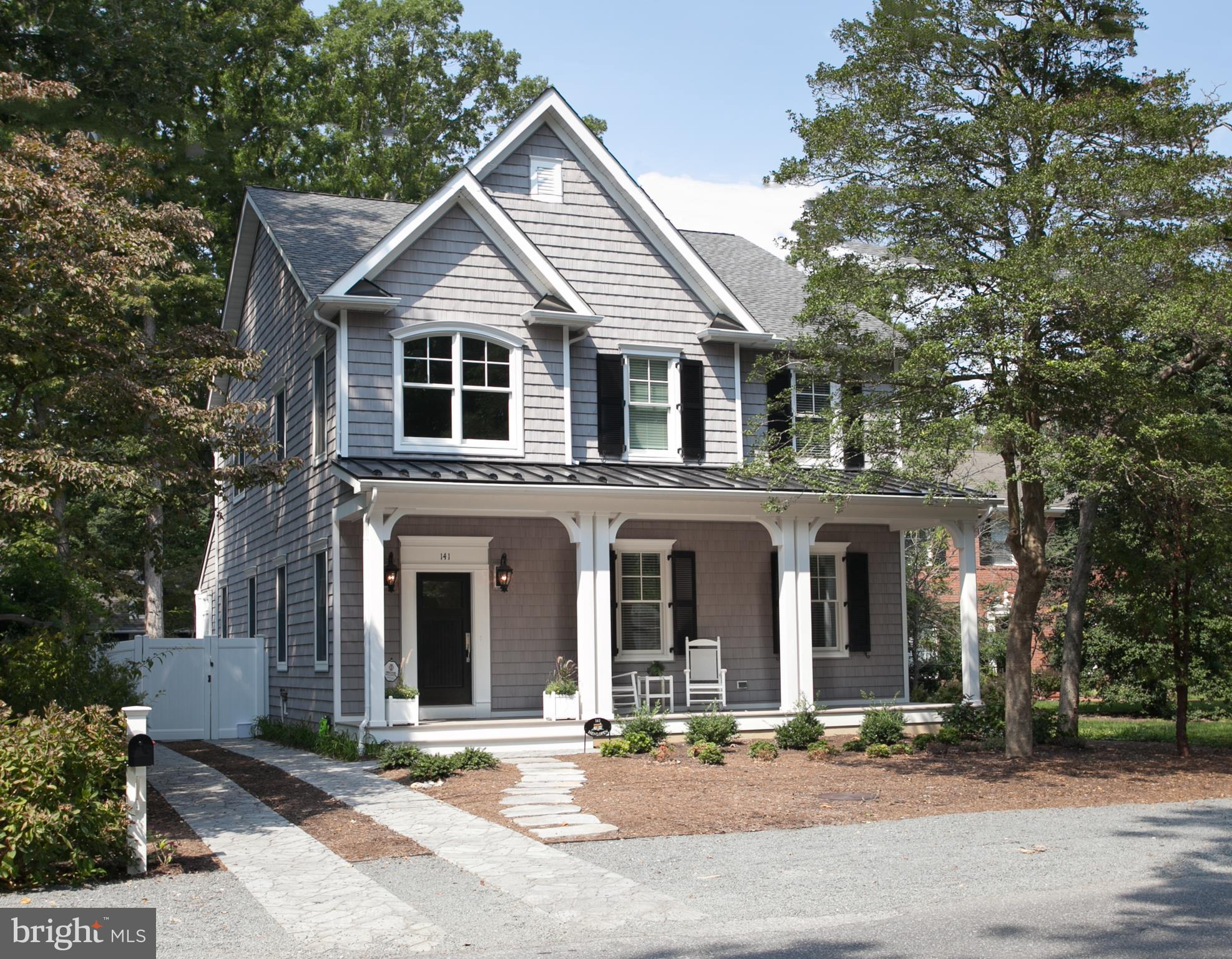 Rehoboth By The Sea- coveted  own the land fee simple. Located  only two blocks to the ocean. Walk o