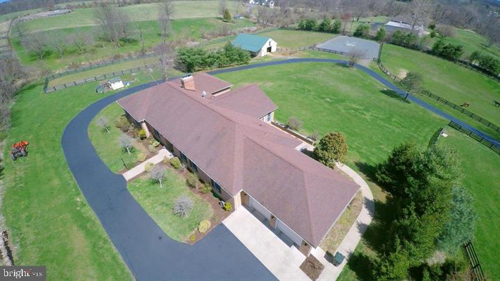 Bring your horses, cows, chickens! All Brick custom home 3957 sq ft. Secluded countryside. Large fam