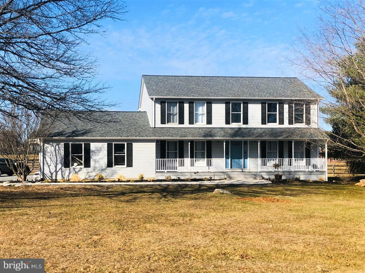 Gorgeous House on 5 Acres in the Equestrian Community of Blue Ridge Estates. All Fenced around. This