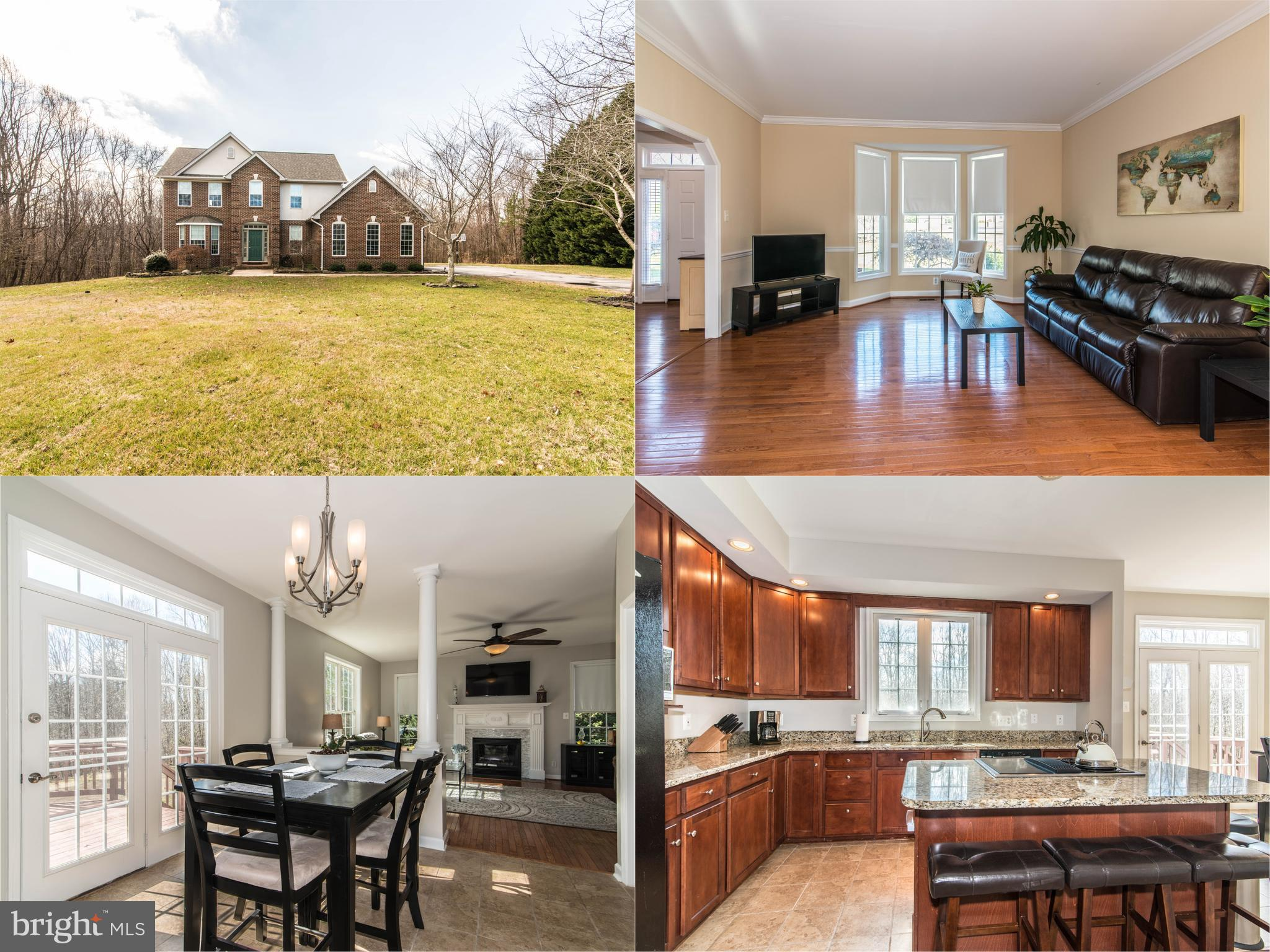 This gorgeous colonial nestled on a quiet cul-de-sac in sought after Bridgeleigh Farms is set on a b