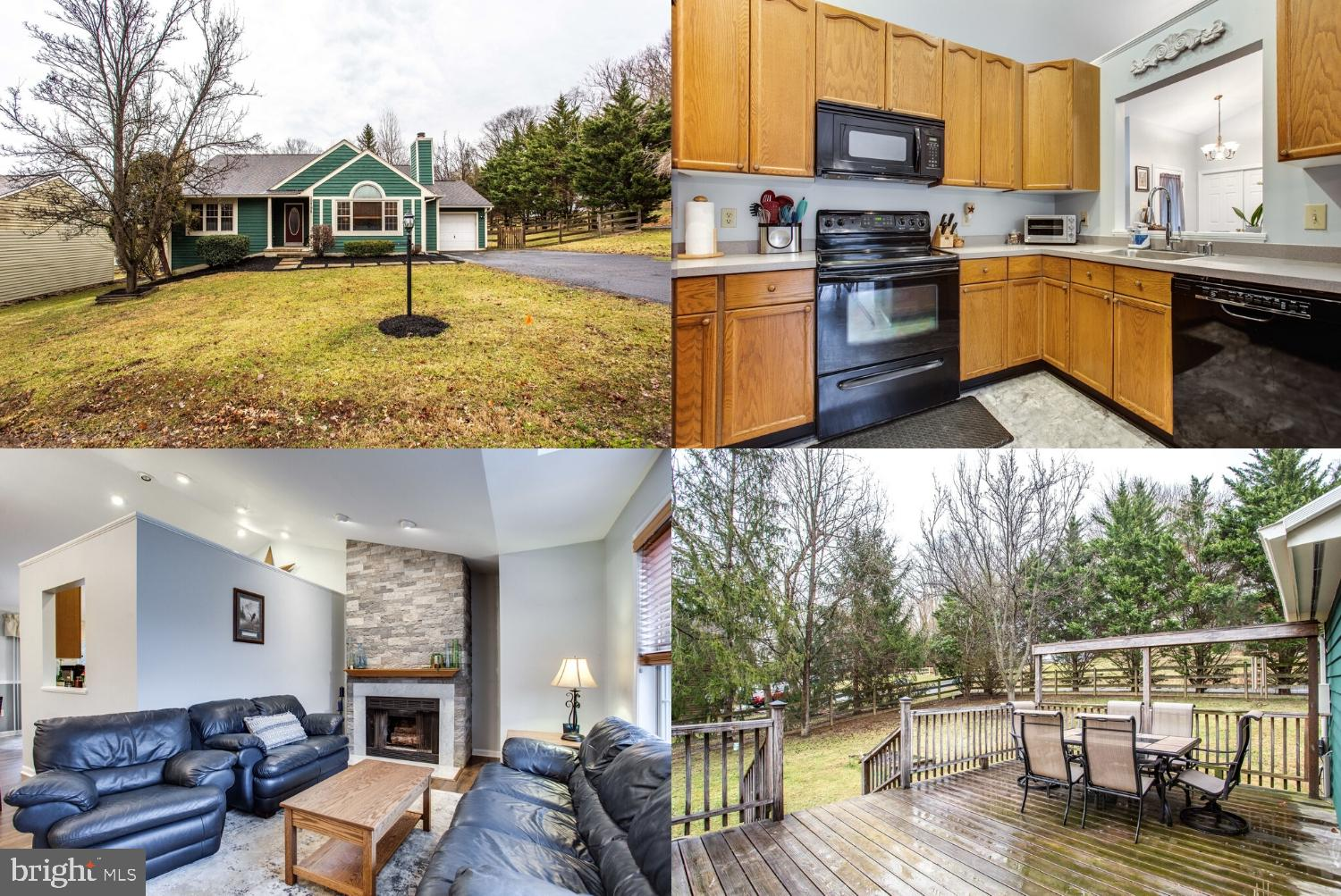 Join the wonderful Lake Linganore community. This charming home sits on a desirable corner lot. 3 bedrooms, 2 1/2 bath and finished basement perfect setting for rec. room, home gym, office, and more! Deceptively spacious interior with gleaming new hardwood floors! Lovely open air kitchen with extensive counter space and updated appliances. Large back deck for entertaining family and friends or just relaxing and enjoying the large fenced yard surrounded by mature trees offering privacy. Beautiful custom stone fireplace sets the tone for comfort in your living room. Freshly painted interior and exterior. Great location! Situated conveniently close to Frederick for dining, shopping, and more! Near I-70 and I-270 for easy commutes! Plenty of nearby activities and amenities including hiking, kayaking, dog park, sport courts, and pools! Must see home and community!