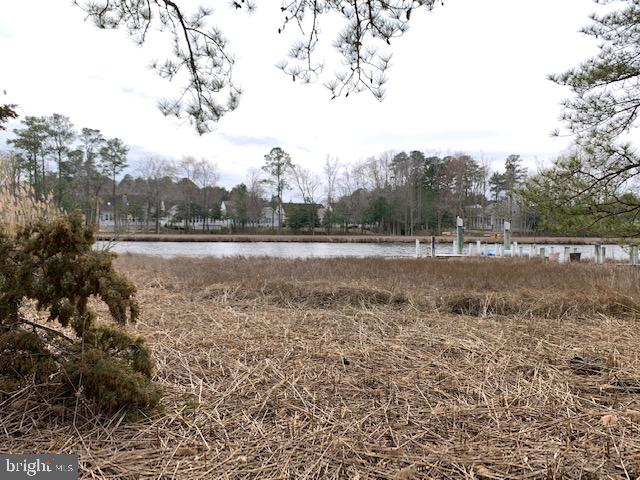 Nature Lover's Paradise! Non-bulk headed waterfront lot on Manklin Creek  with easy access to Bay and Ocean. Ready to build on now with central water and sewer available or save it for your future dream home.Great views and crabbing, too, from a dock that can be built there. Call for details.