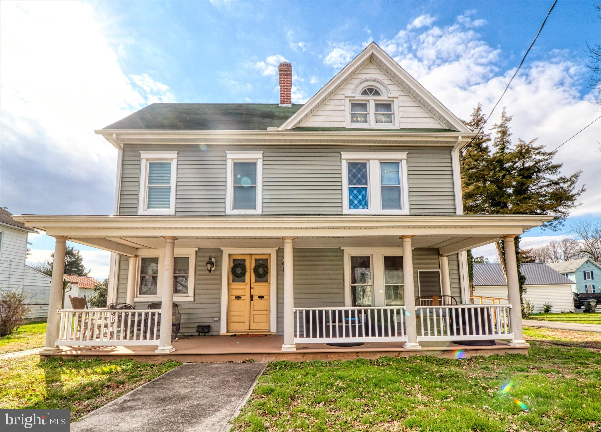 This Fabulous 1910 colonial was totally renovated in 2017! New HVAC units, plumbing, electric, drywa