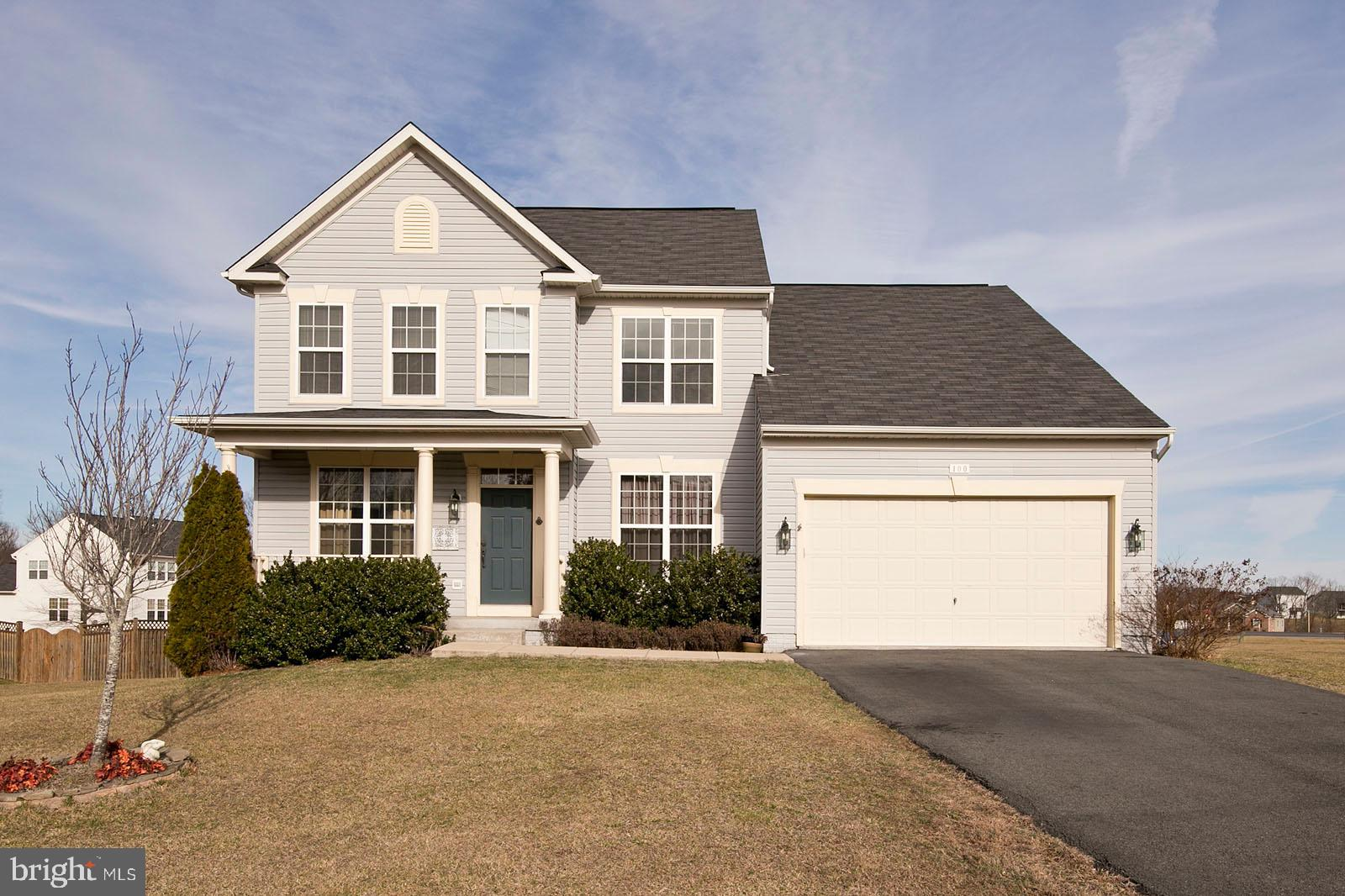 This 4 bedroom 2.5 bath home is located on a cul de sac in popular Wakeland Manor! This community of