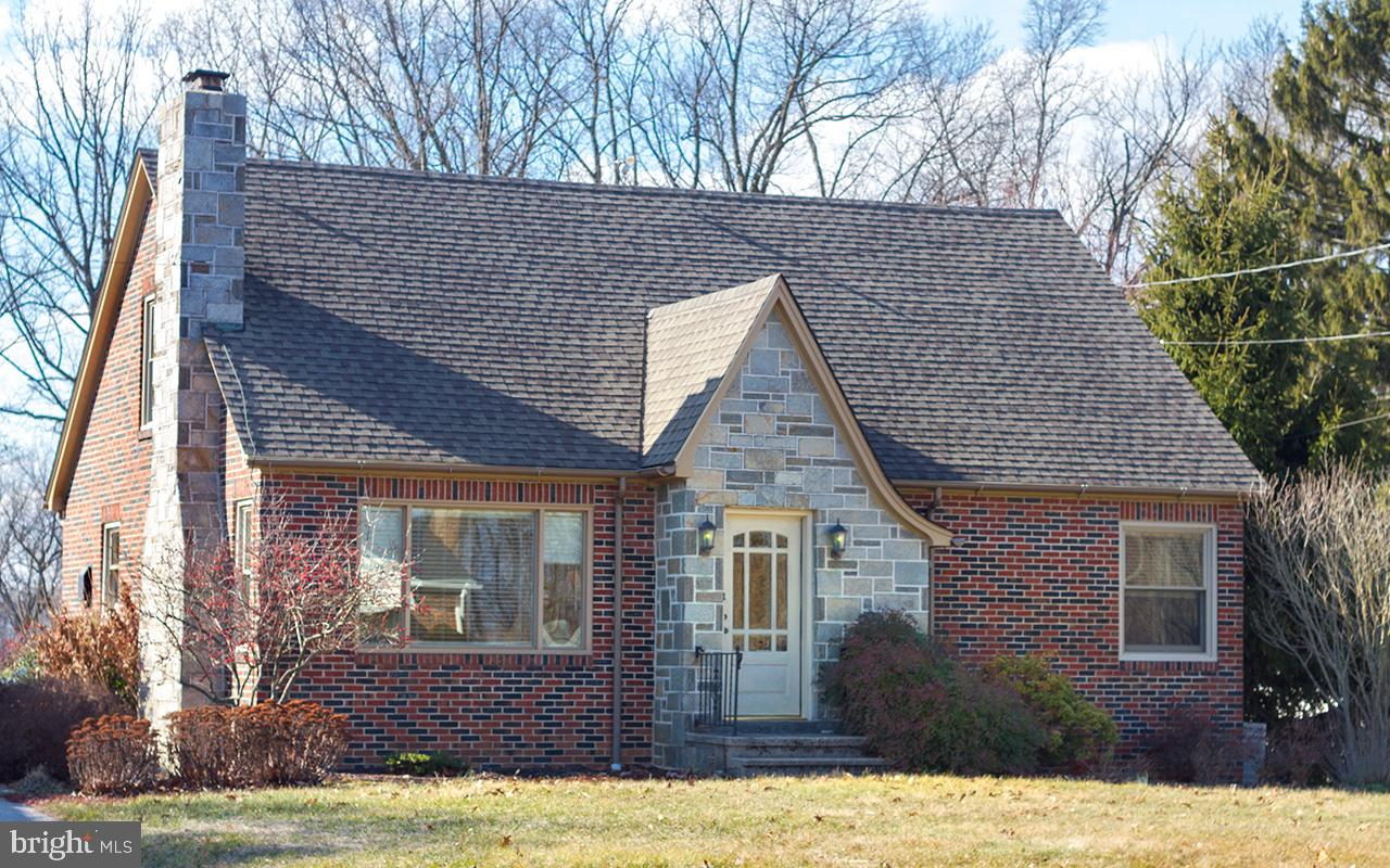 Wonderfully update brick and stone cape cod home on .63 acres!!! Over 2,000 SF of updated living space. Pella wood frame replacement windows....wood floors throughout....country kitchen with maple cabinets...granite counter tops....updated appliances.....arched doorways.....living room with stone faced wood-burning fireplace and replacement picture window and beveled glass entry door.....two main floor bedrooms....huge room sized throughout.....oil heat....central air-conditioning....over-sized detached garage with tons of cabinets and storage....nice backyard shed with concrete floor and electric.....raised vegetable garden bed......level and open backyard.....landscape-paver patio w/privacy fence......this one is turnkey and ready just move in and enjoy!!