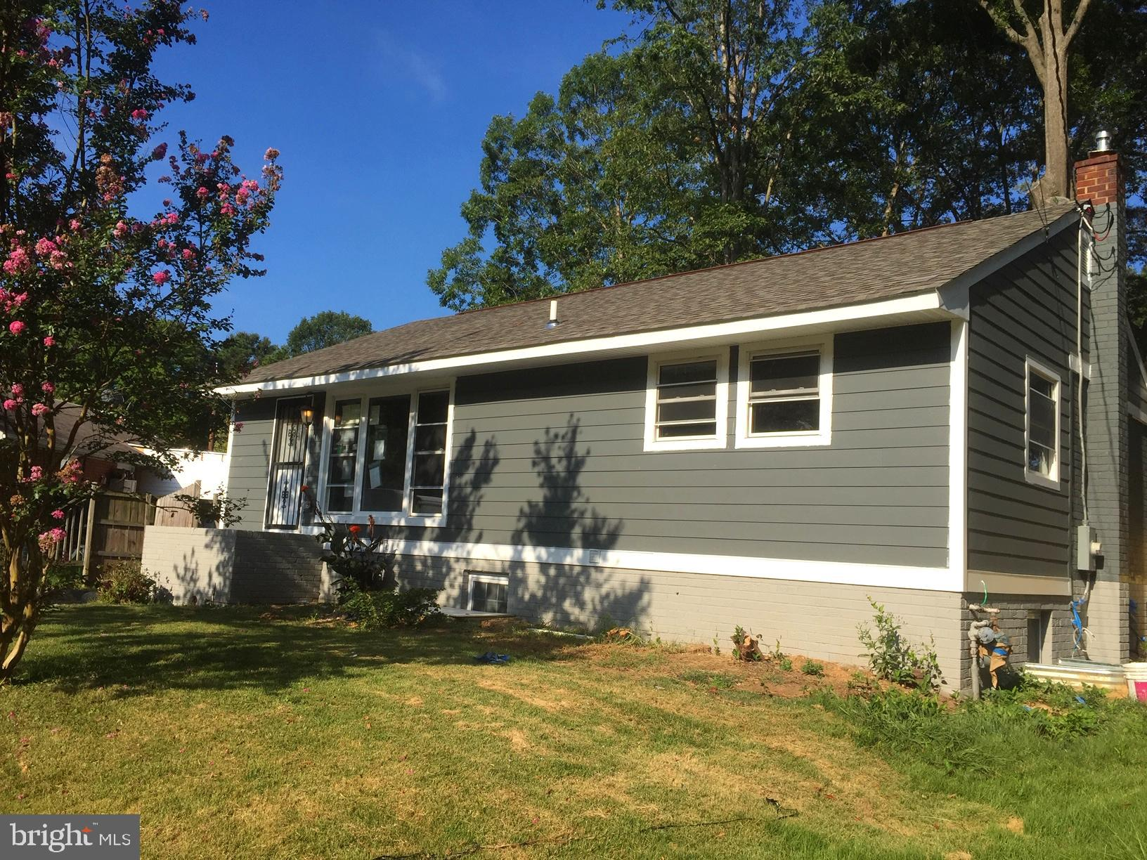 Updated single family rancher w/ 3 bedrooms and 2 full baths & a fully finished basement!