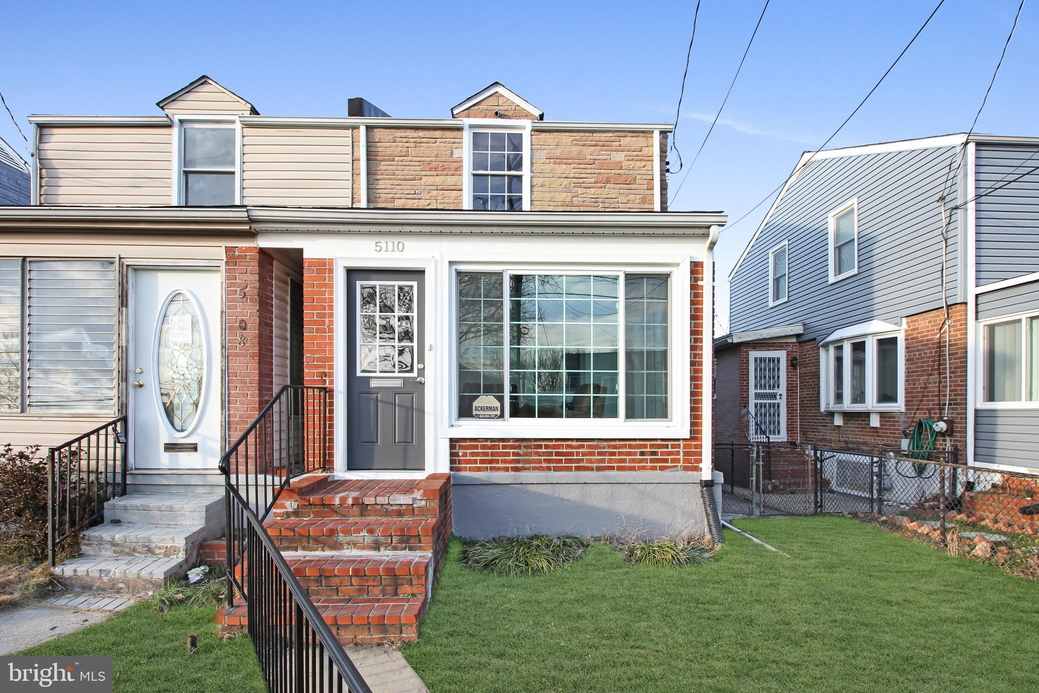 Beautifully renovated home in the heart of Deanwood minutes from Deanwood and Minnesota Avenue Metro