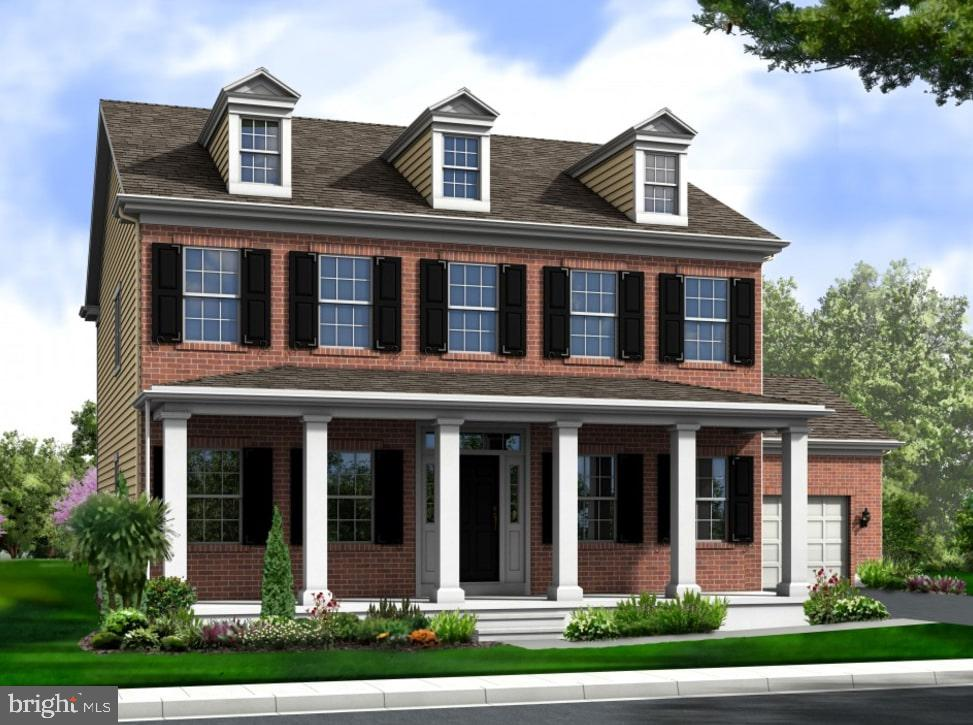 Move in ready. Cabot floor plan with an alternate first floor layout that gives you a 5th bedroom an