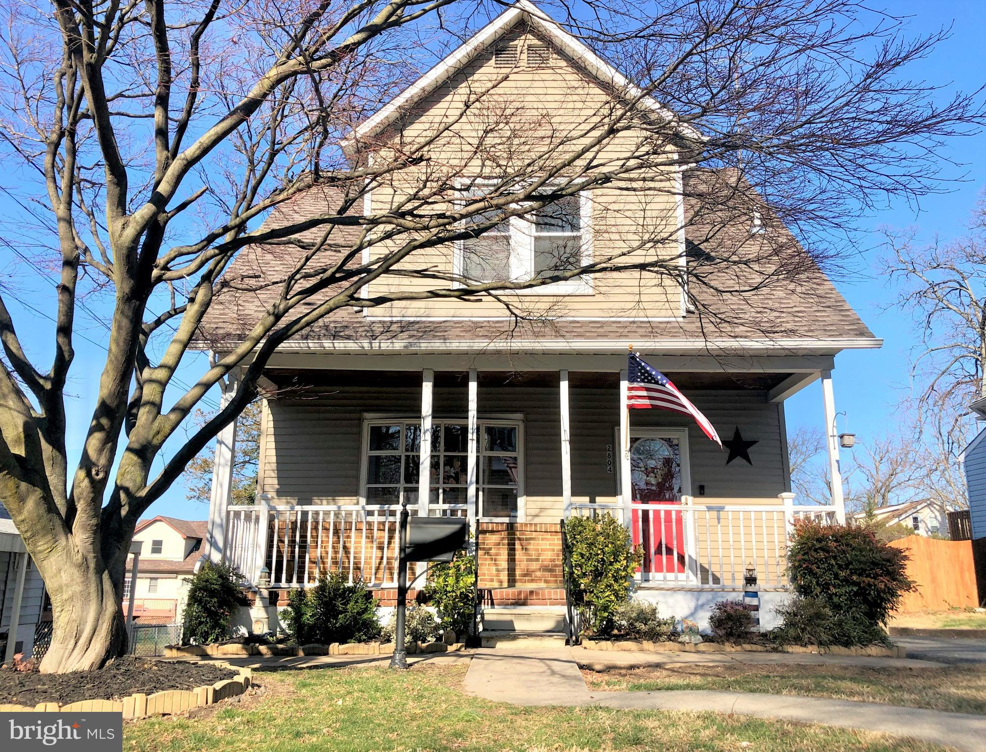 Are you stuck inside but still want to find a new home?  Just Copy and Paste the links below to view the virtual tours of this charming and affordable home in Parkville with 3 Bedrooms and 2 full Bathrooms: https://american-imagery-llc.seehouseat.com/public/vtour/display/1545834?idx=1#!/   AND    https://www.dropbox.com/s/9pxgw2oryxj5hkv/2804%20HIllcrest%20Ave%20-%20Unbranded.mp4?dl=0    Proudly featuring a roof with 30 year architectural shingles, brazilian cherry hardwood floors on the main level, pellet stove in the family room, stainless steel appliances,  fenced in backyard,  storage shed, and off-street parking for 3 vehicles.   You'll love entertaining on the large deck or relaxing on the charming front porch.  The Master Bedroom features hardwood floors and double closets.  The bedrooms are generous sizes and the upstairs bathroom has been nicely updated.  The floored attic and unfinished basement both provide plenty of storage.  Very conveniently located and within walking distance to the shops and restaurants at the Parkville Shopping Center.  One Year Home Warranty Included.  SELLERS ARE MOTIVATED - LETS MAKE A DEAL!