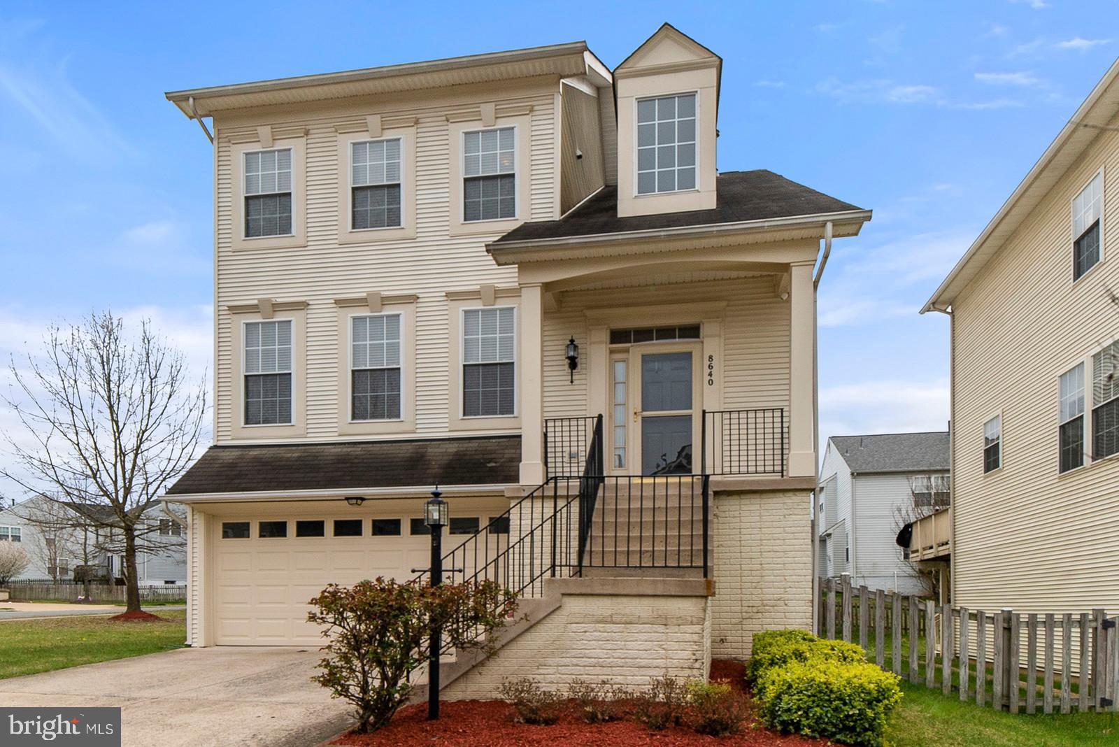 This Beautiful large Corner lot, Single family home is MOVE IN READY!!  Lovely hardwood throughout the main level with open kitchen layout.  Separate office space on main level, Laundry on bedroom level. Fully finished lower level w/ full bath & walkout patio with a hot tub that conveys. Neighborhood is a family friendly Community w/pool!