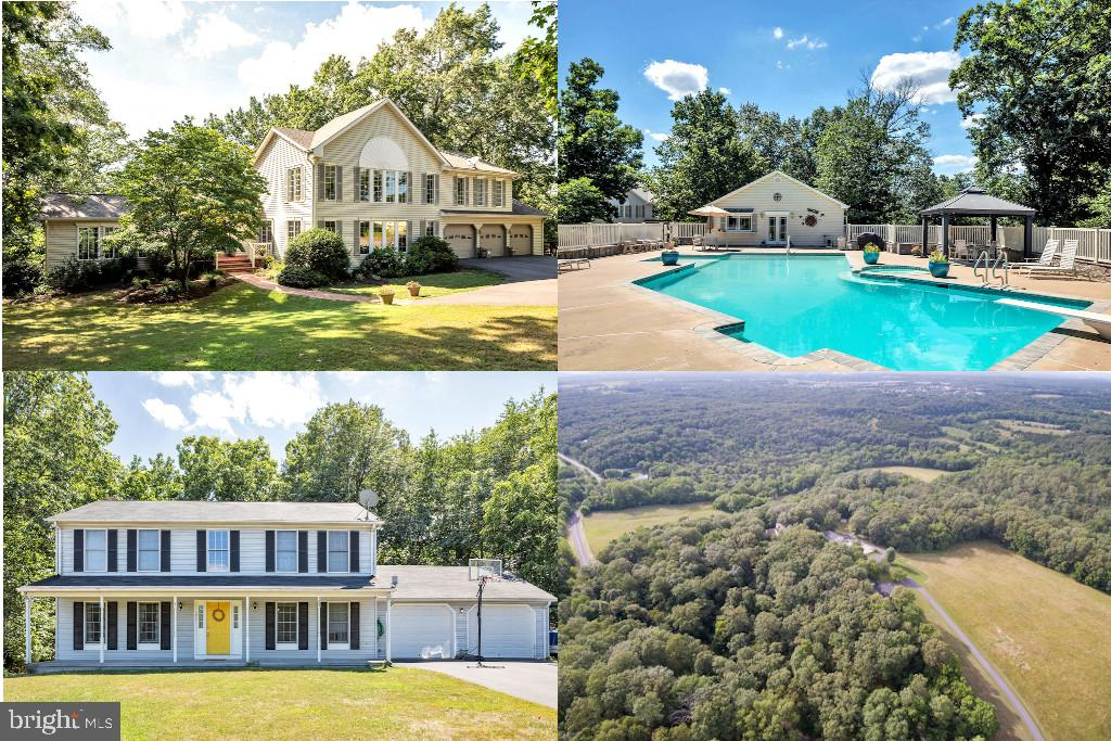 2 Properties for sale!  These beautiful property combines 2 homes and the peace and privacy of 66 ac