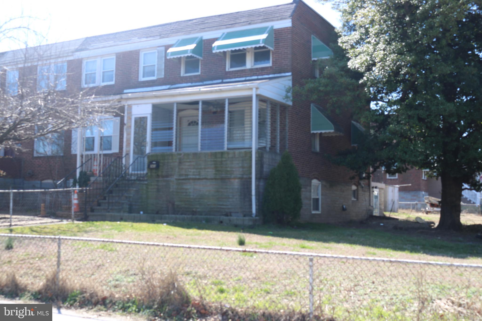 SHORT SALE. Brooklyn Park, LARGE END OF GROUP with lots of potential. Possible in law suite in lower level.  2 washer/dryer hookups in home. Wrap around yard with space in back for parking. Wood floors throughout. Sold as is. Convenient location and easy access to major highways.
