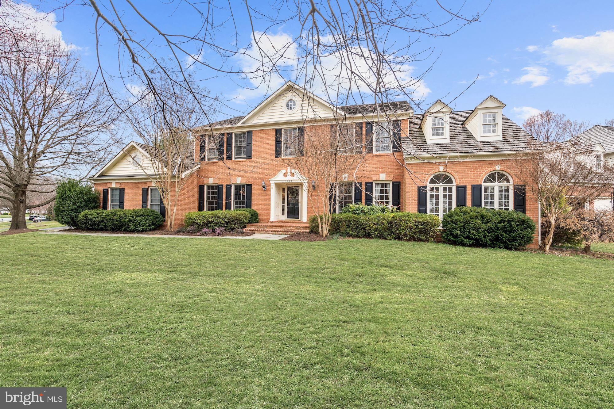 One of the largest homes in Woodlea Manor at an incredibly competitive price.  Former model home on