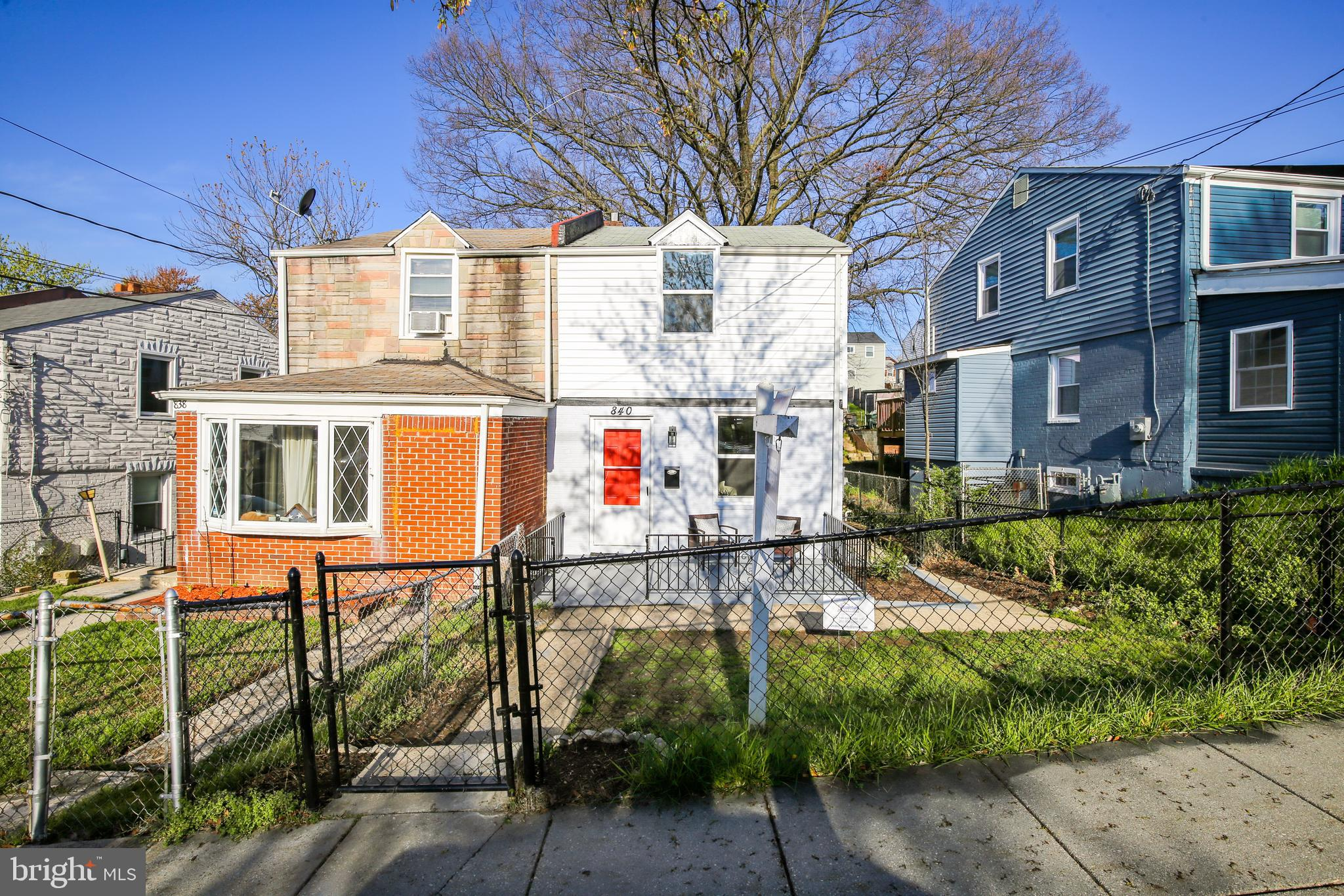 Charming renovation in the heart of Deanwood with impeccable curb appeal. This 2 bedroom, 2.5 bathro