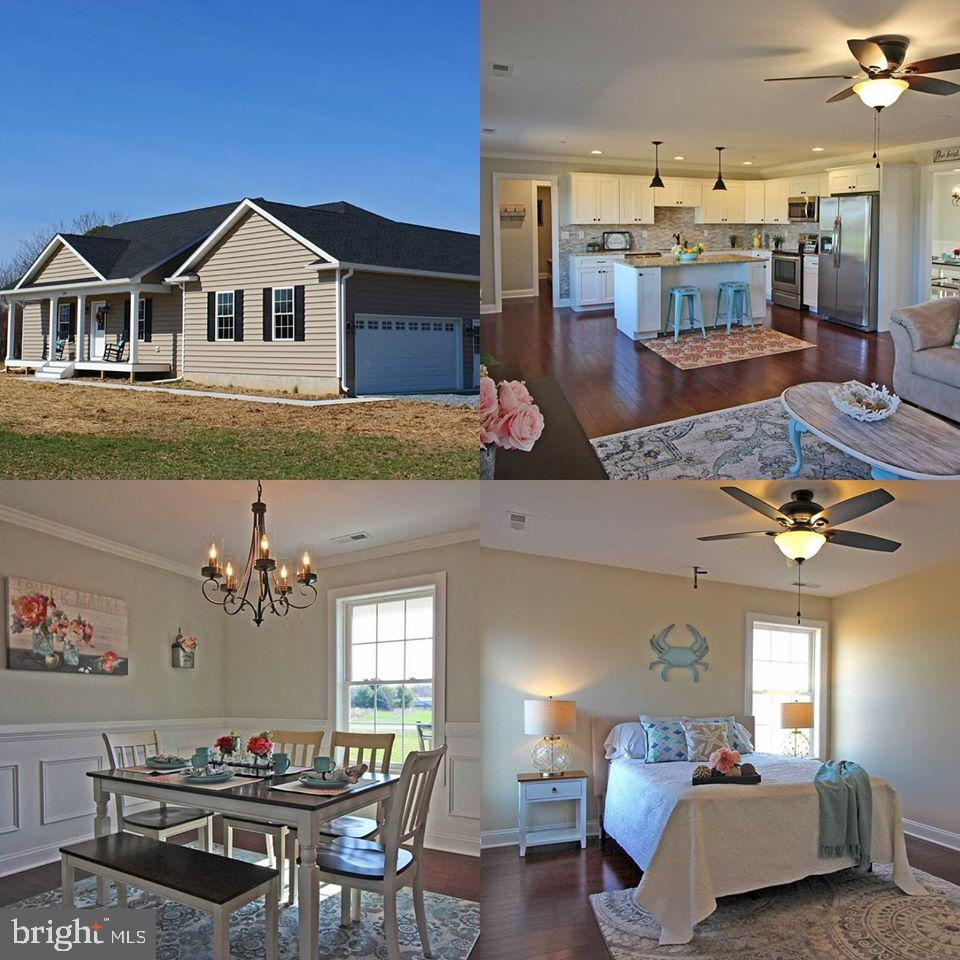 Gorgeous New Construction!!  3 Bedrooms and 2 Bathrooms with no detail left untouched.  No builder g