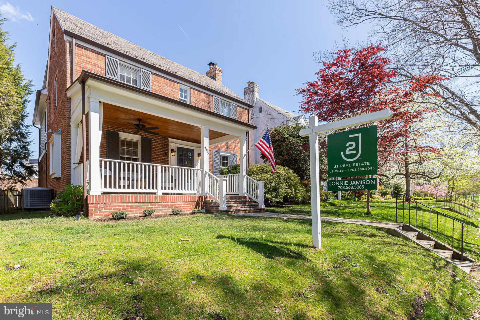 Beautiful renovation and expansion of a classic colonial in coveted AU Park featuring over 4,000 squ