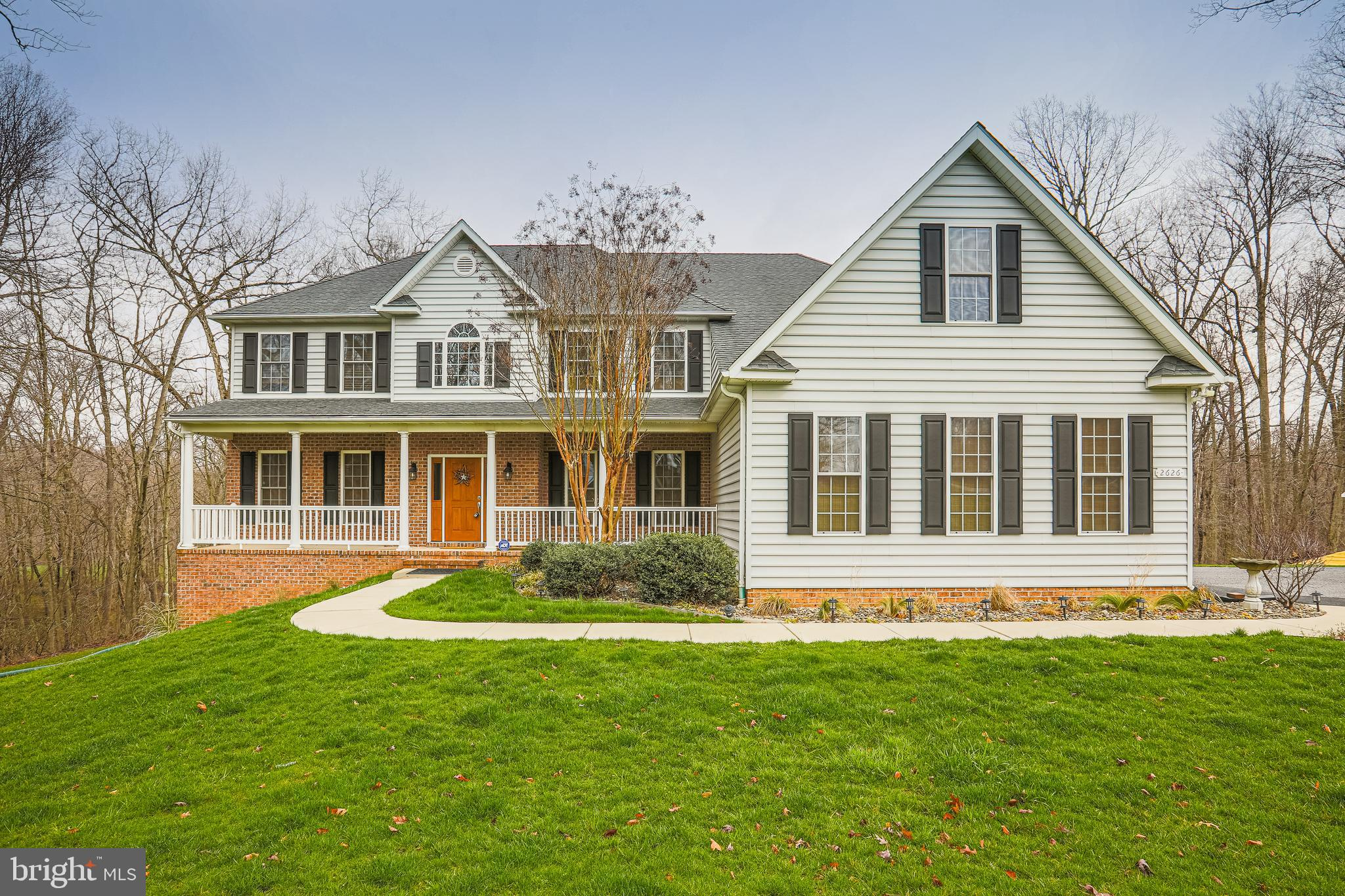 Amazing, gorgeous, over 6500 sq. Ft., 5 BR, 4 full baths & 1 half bath home. Sits privately, back in
