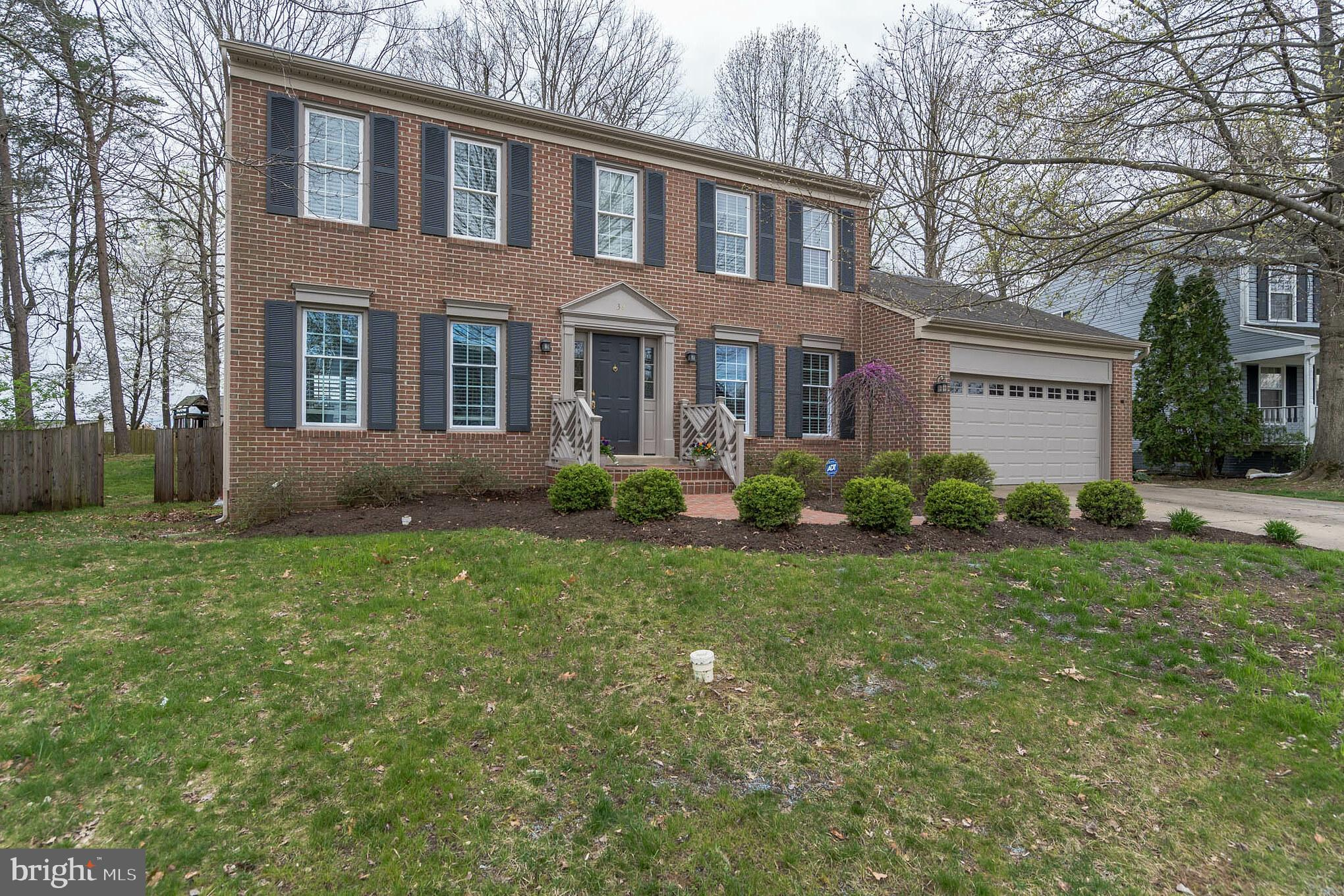 Beautiful two story home on a large lot in Hampton Oaks! Upon entering the home immediately notice t