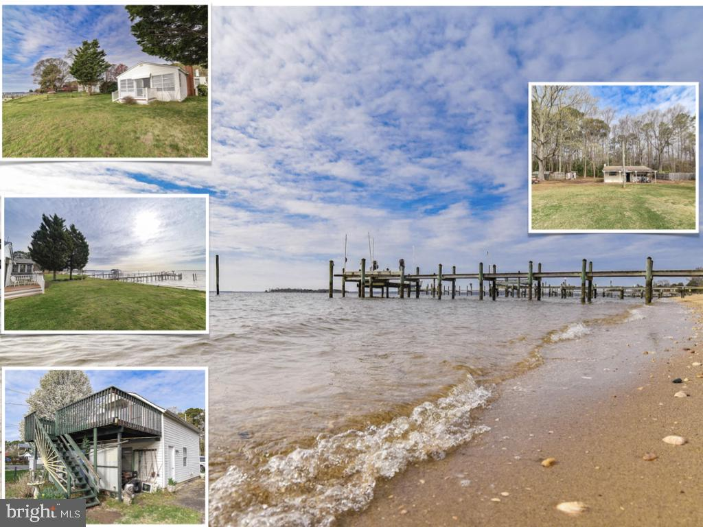 This Beautiful Beachfront estate sale is an AS-IS sale.  Home has three bedrooms (4th bedroom in stu