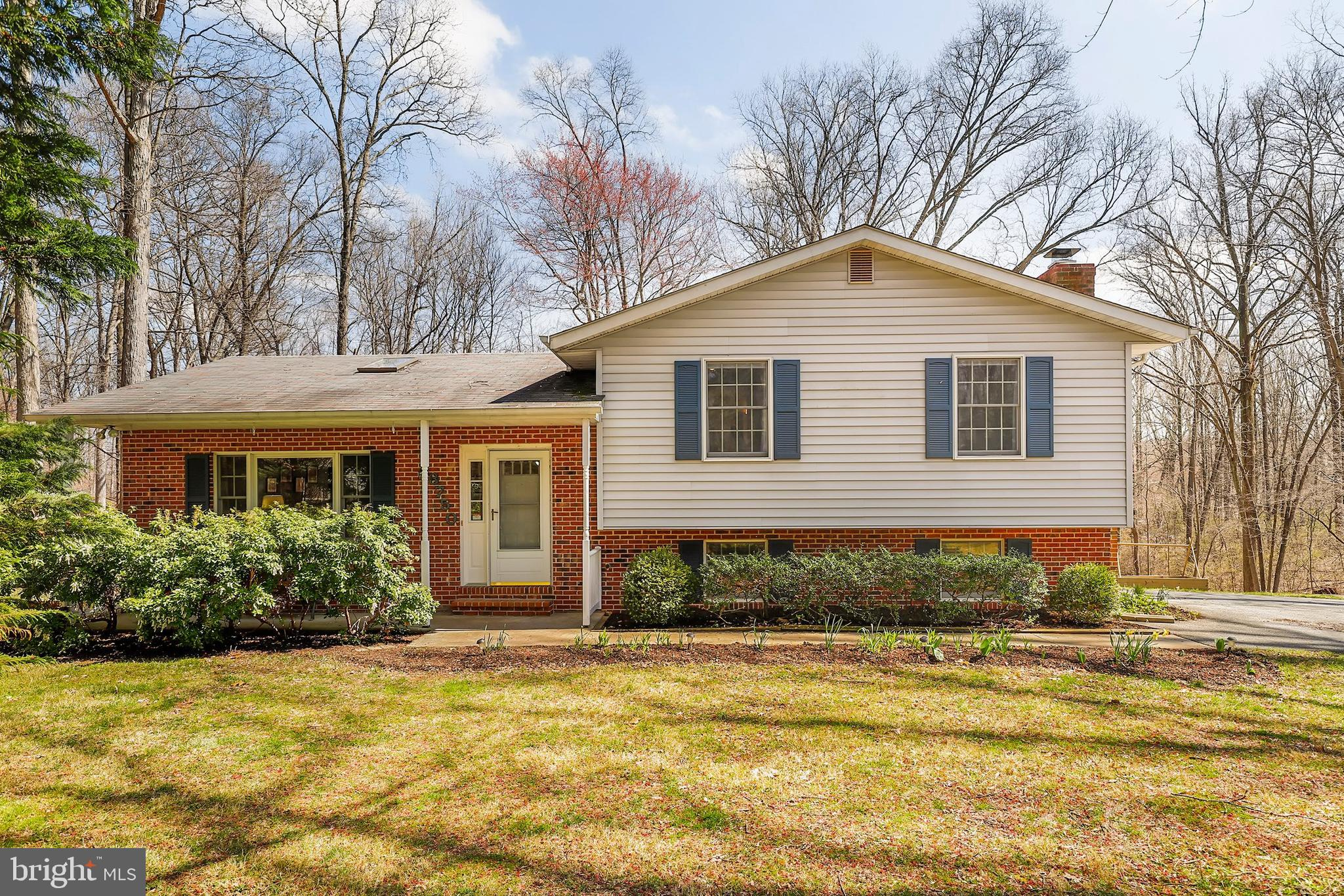Well-cared-for house with even better property. Sits on over 2 acres surrounded by trees with a smal