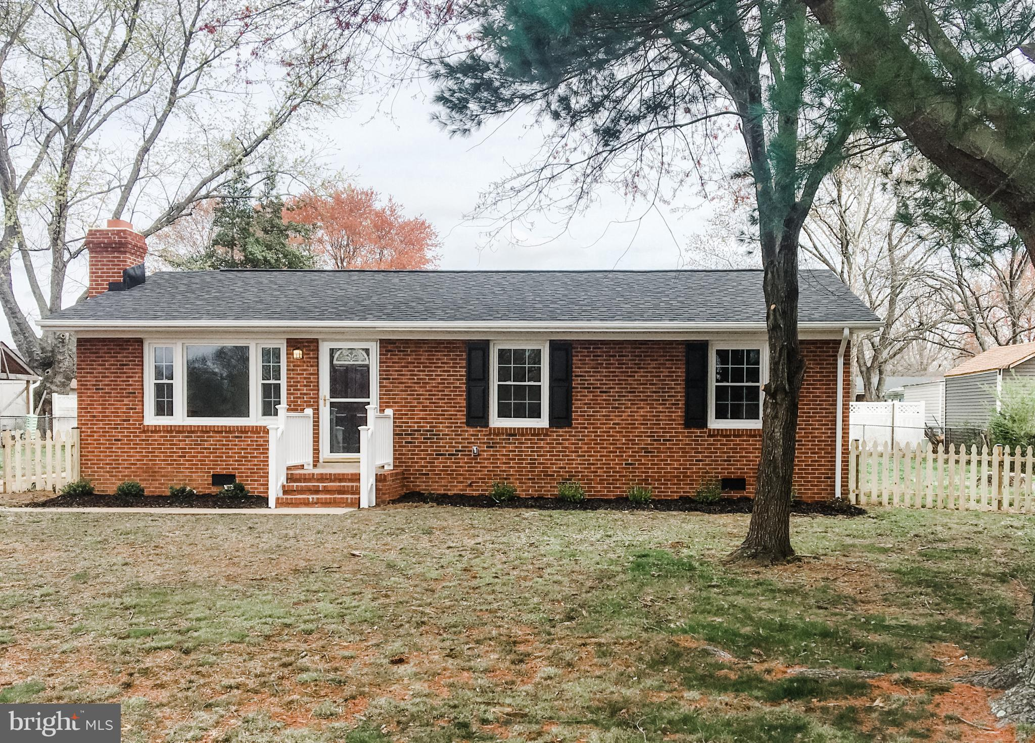 One Level Living fully renovated home in established  and convenient Grafton Village subdivision in