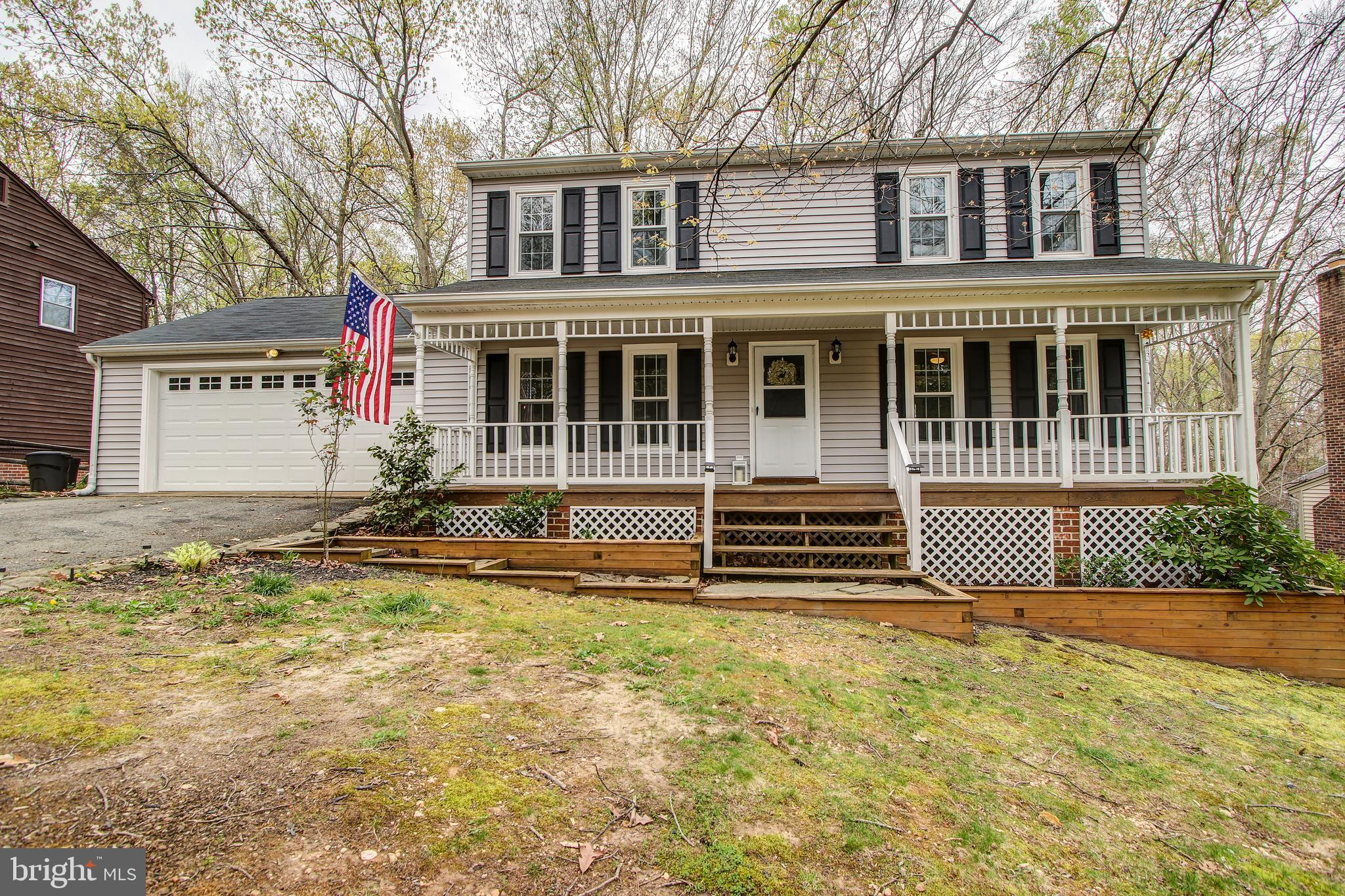 Don't miss out on this beautiful 3 bed, 3.5 bath colonial home with a charming front porch and 2 car