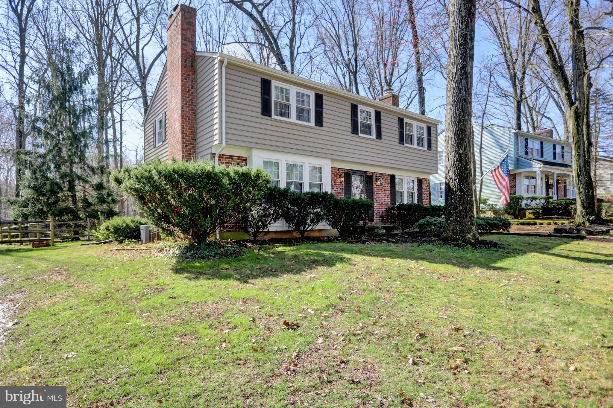 Don't miss this darling and RARE 5 Bedroom 2 1/2 Bath Colonial in the quiet Marywood neighborhood. L