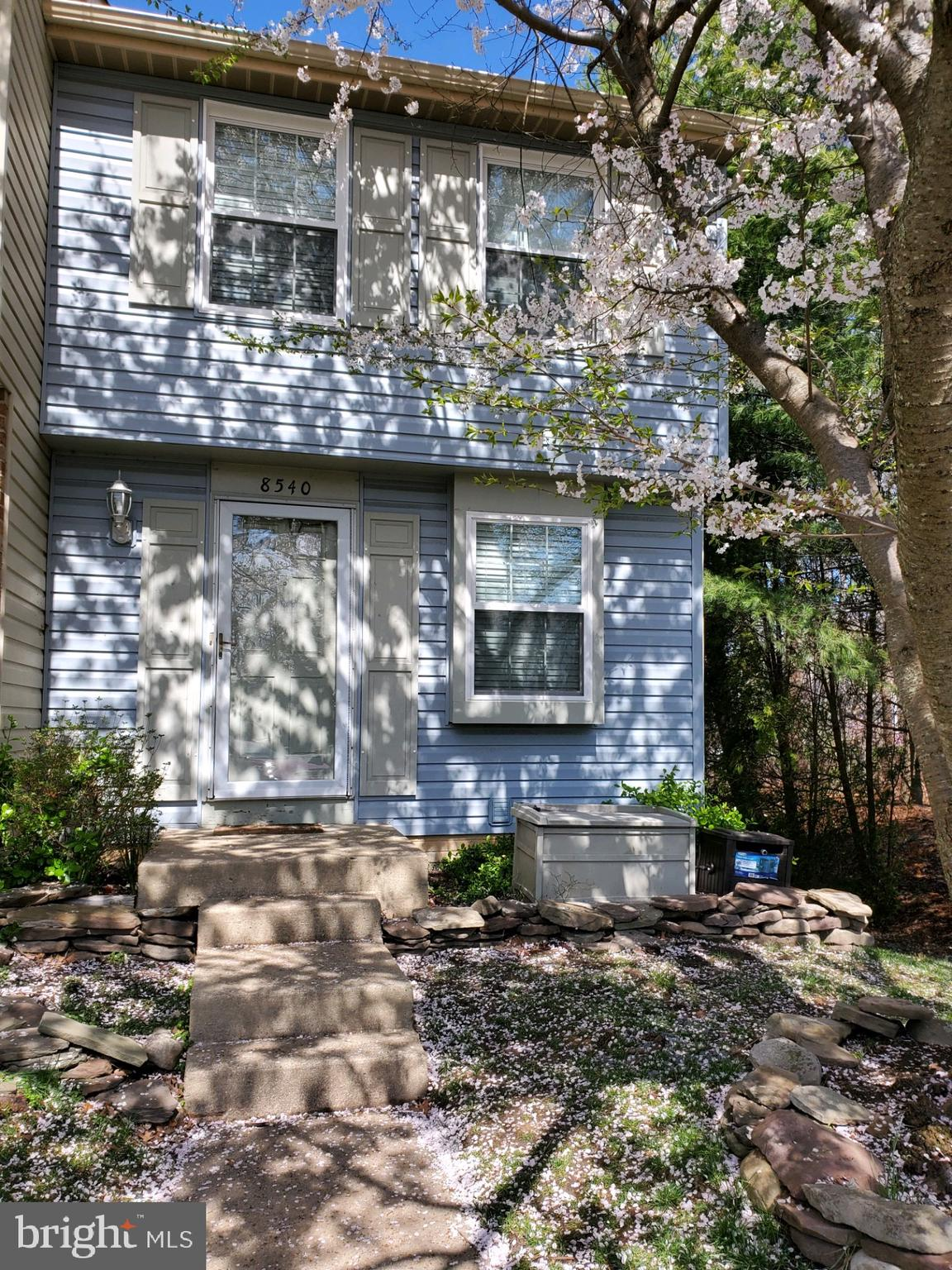 * MULTIPLE OFFERS RECEIVED* End unit townhouse in Newington Heights available immediately! Freshly painted, brand new carpet. Roof, siding, gutters replaced 2016, windows 2017, water heater 2018. Two large bedrooms upstairs w/ full bath, finished basement with bath steps out to patio with fenced in yard. Minutes to 95/VRE/shopping/restaurants.