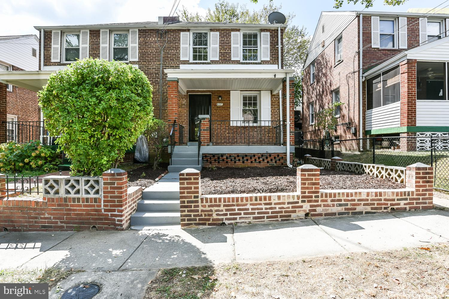 Must see this charming sunlit 2 bedroom 1 bath 3 level home. Features include hardwood floors, doubl