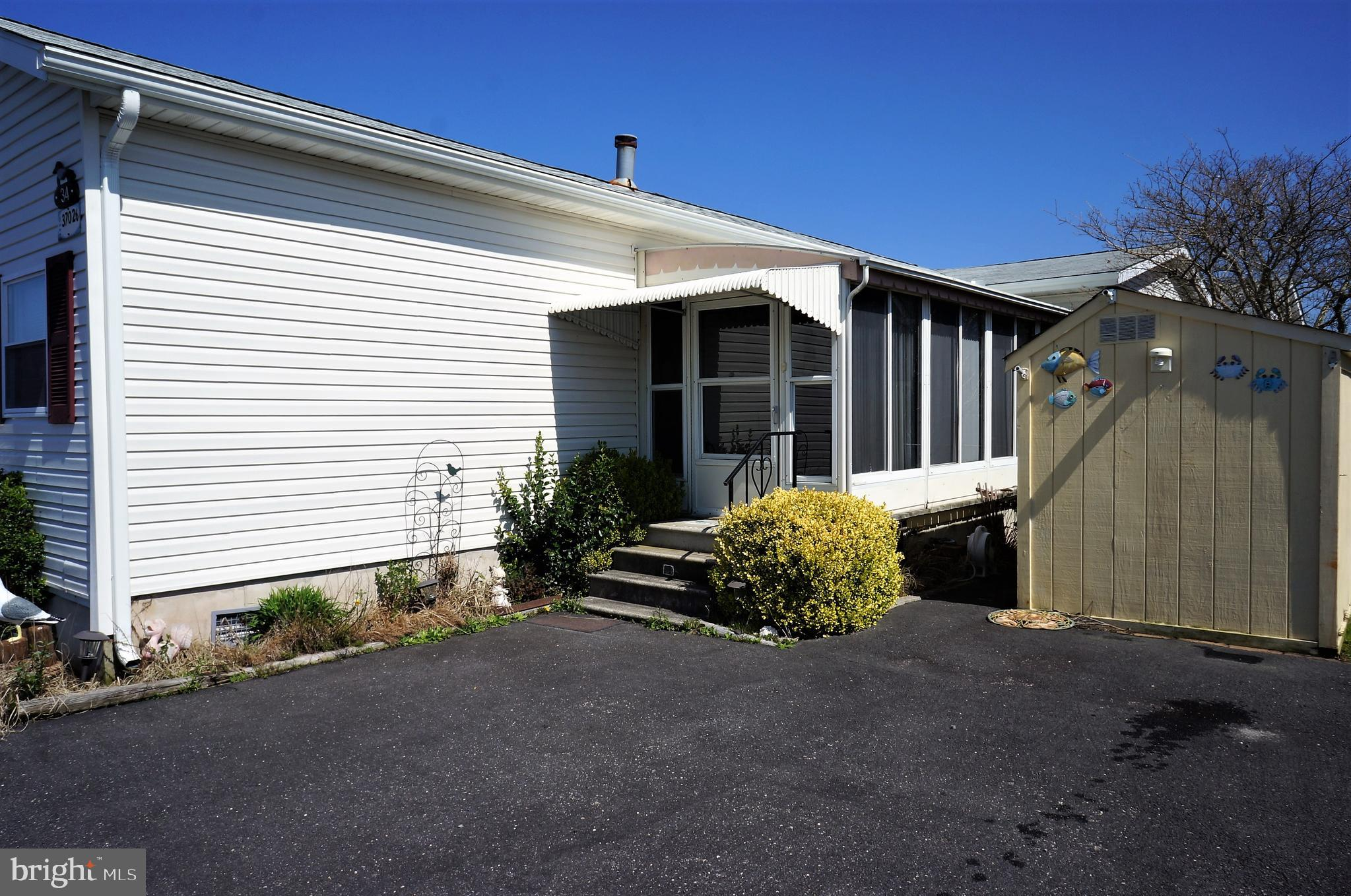 Great opportunity at a great price, this water front 2 Bedroom, 2 Bath home is sold furnished and re